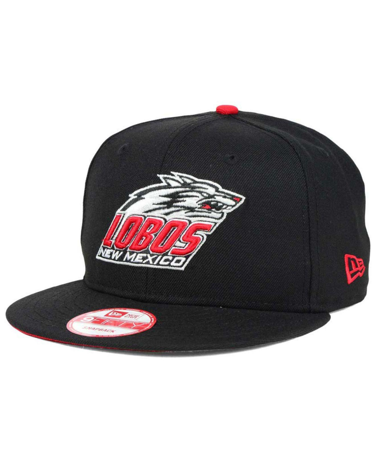 b774fe7276e Lyst - KTZ New Mexico Lobos Core 9fifty Snapback Cap in Black for Men