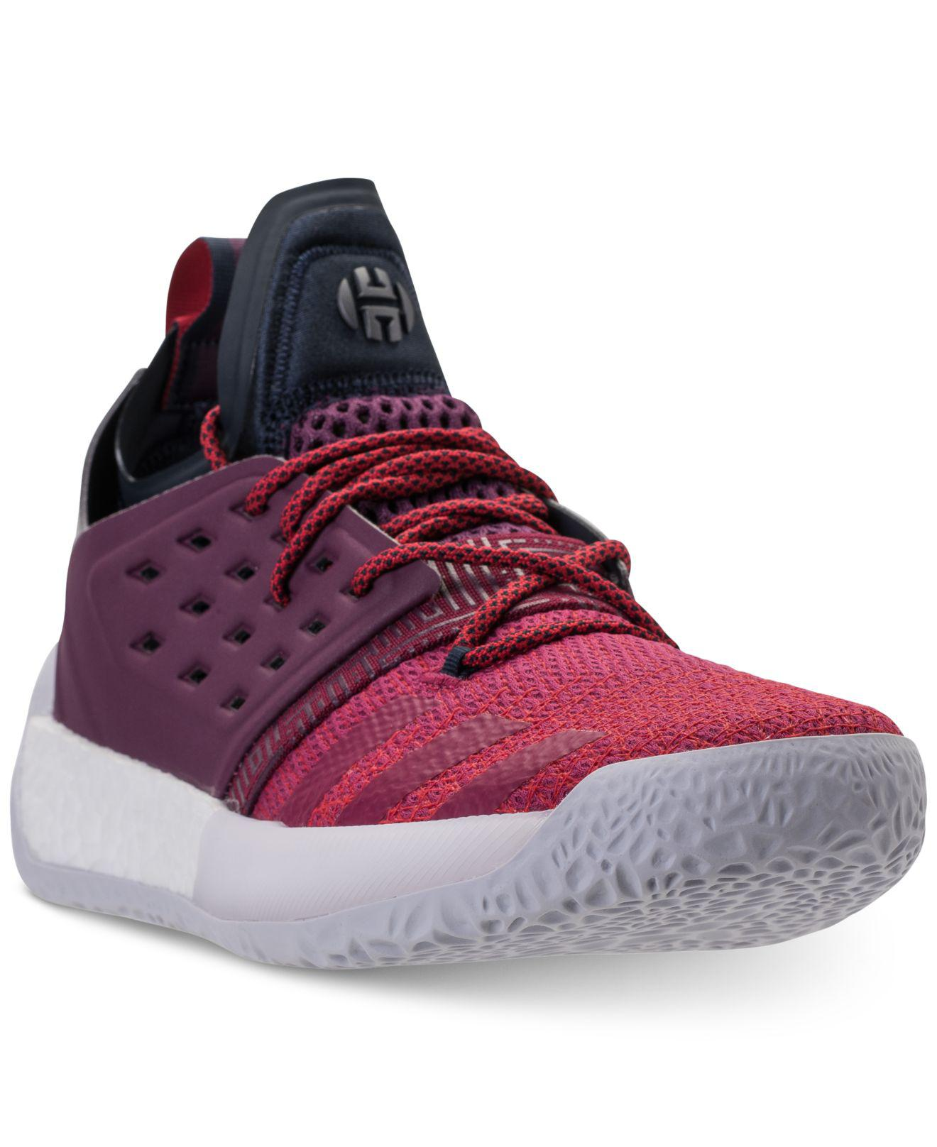 a6551f6d8503 Lyst - adidas Harden Vol.2 Basketball Sneakers From Finish Line in ...
