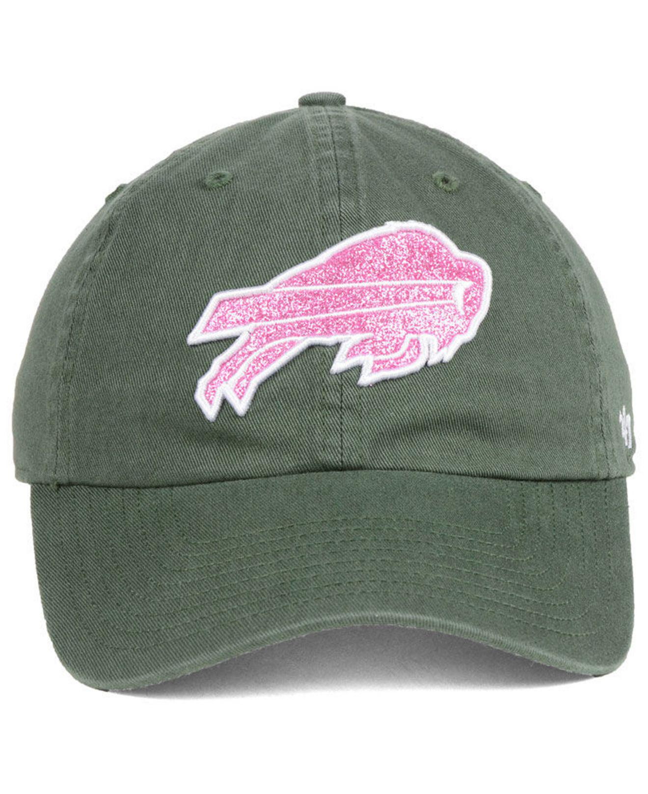 new arrival a843d 13a1b Lyst - 47 Brand Buffalo Bills Moss Glitta Clean Up Cap in Green