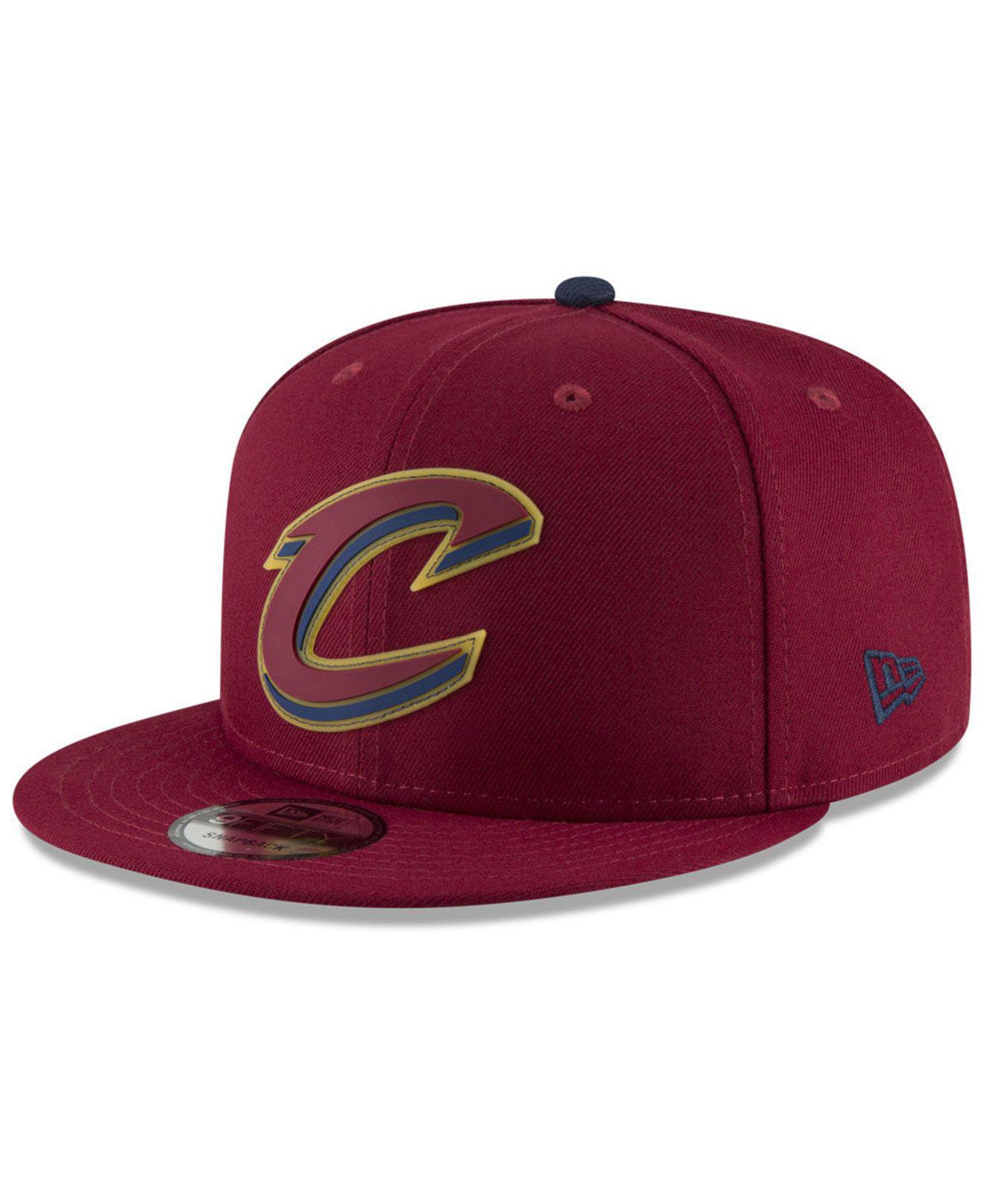 16c3750c323 Lyst - Ktz Cleveland Cavaliers Team Cleared 9fifty Snapback Cap for Men