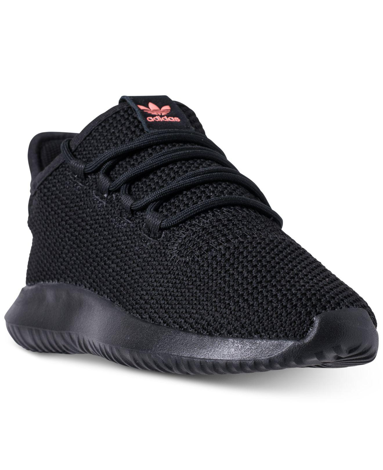5ba9bd76ec082 Lyst - Adidas Tubular Shadow Casual Sneakers From Finish Line in Black