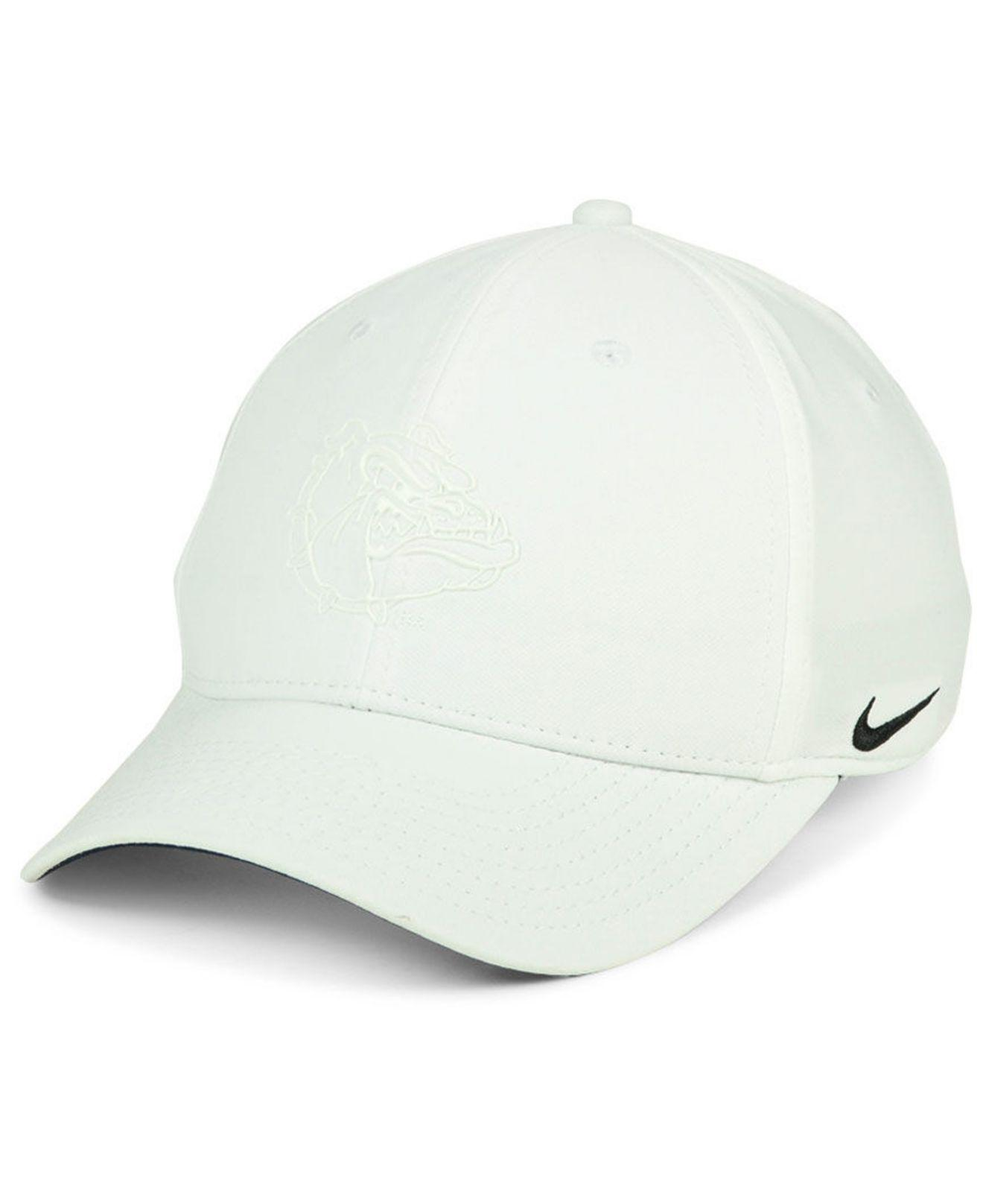 47cb321fd9f Lyst - Nike Gonzaga Bulldogs Col Cap in White for Men