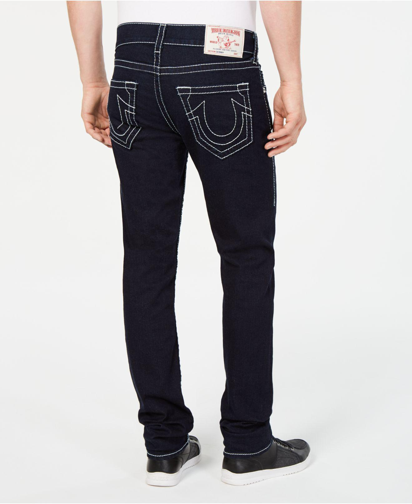 ea07c3276 Lyst - True Religion Skinny-fit Jeans in Blue for Men