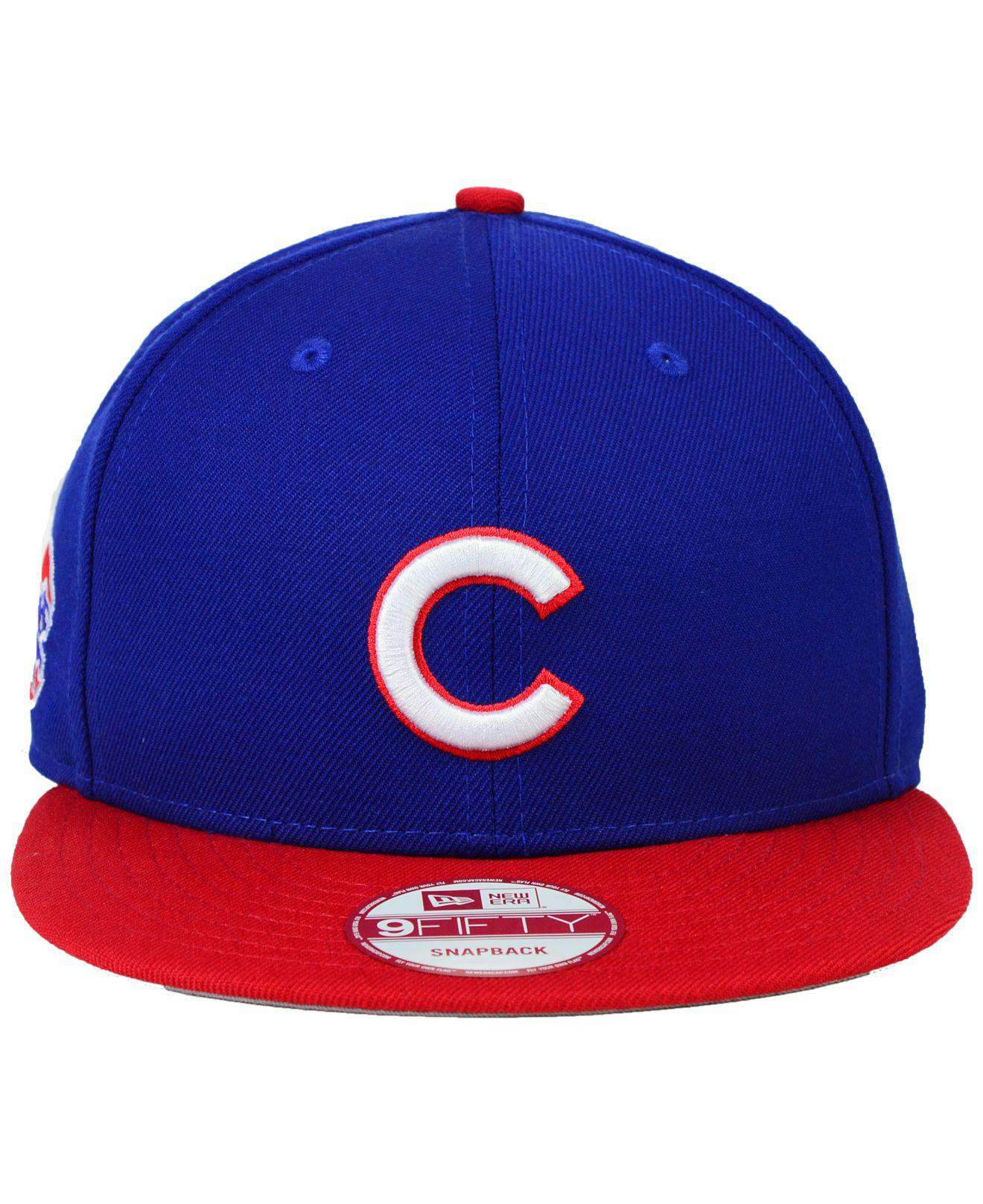 reputable site reasonably priced classic styles ireland chicago cubs new era mlb jersey hook 9fifty snapback cap ...