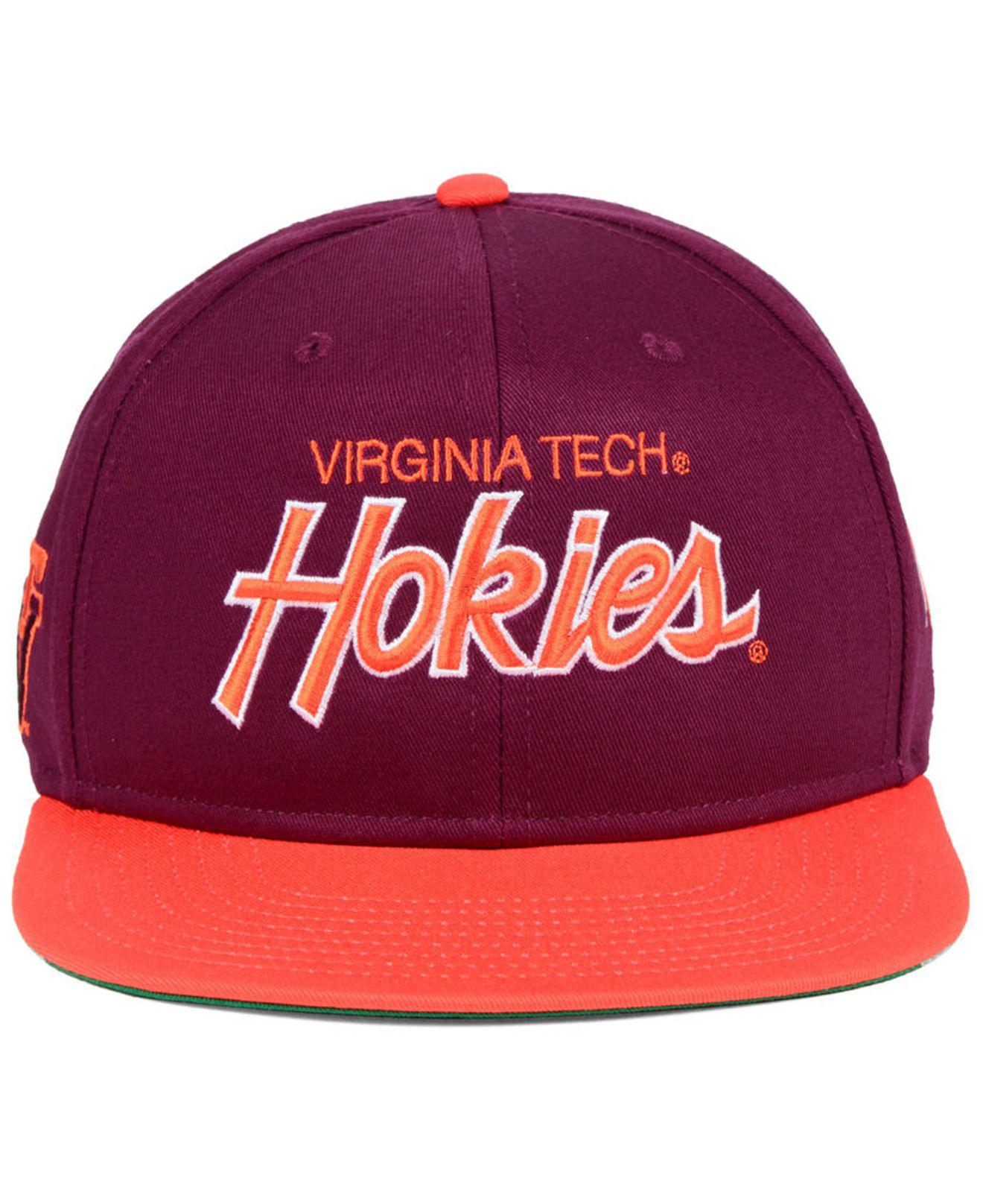online store f1f30 e31ac ... wholesale lyst nike virginia tech hokies sport specialties snapback cap  for men 323c3 e4cc7