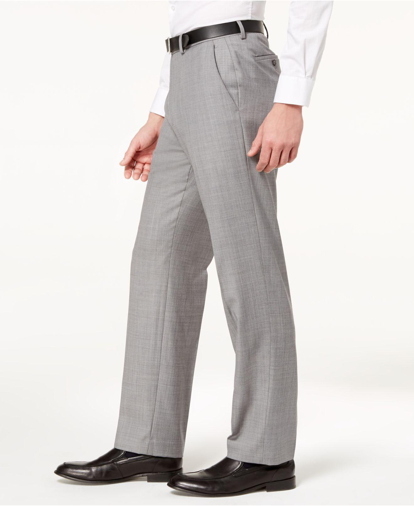 09dbdc13ce37d Lyst - Michael Kors Classic-fit Airsoft Stretch Solid Suit Pants in ...