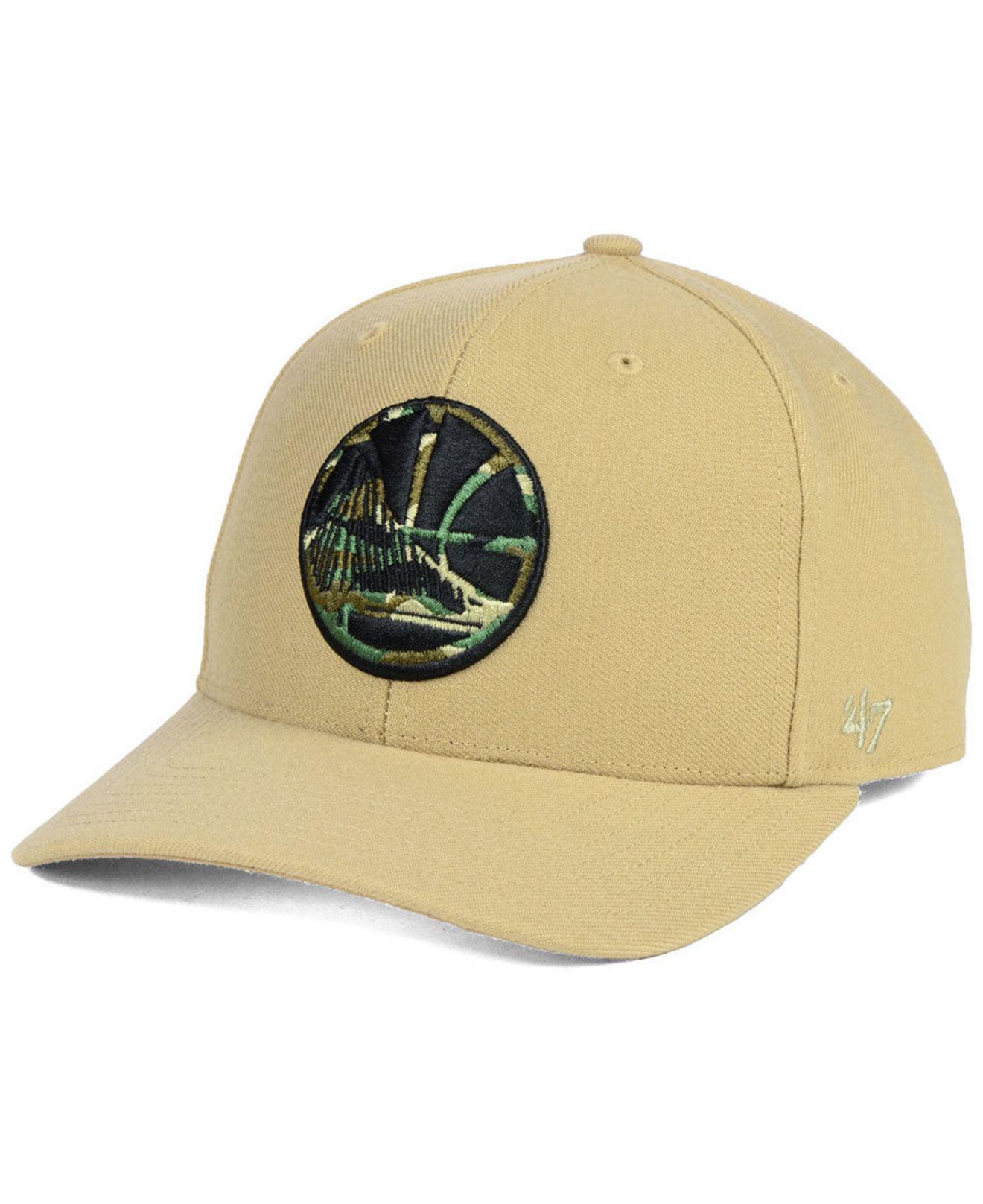 0a86fe2753c Lyst - 47 Brand Golden State Warriors Camfill Mvp Cap for Men