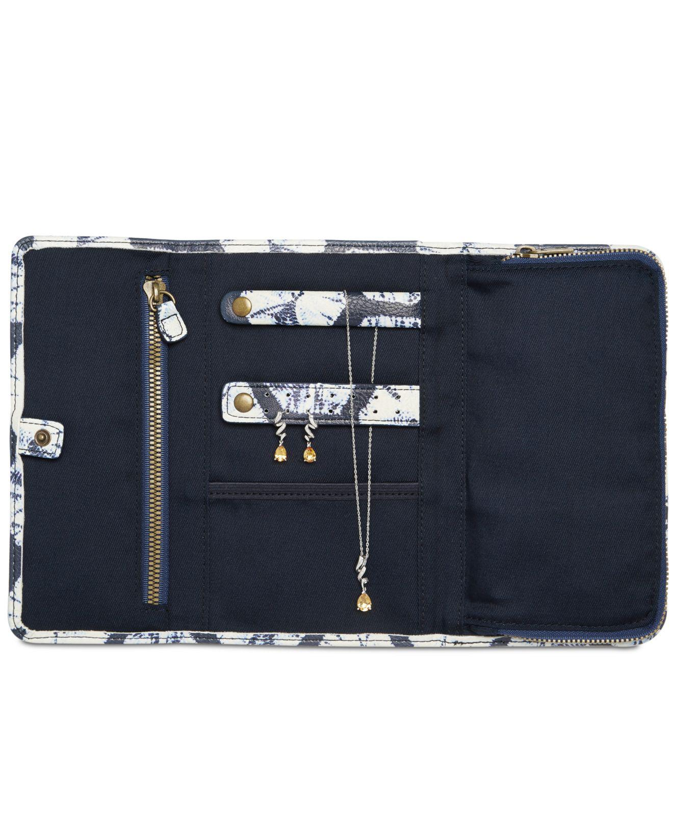 Lyst Lucky Brand Travel Jewelry Case in Blue