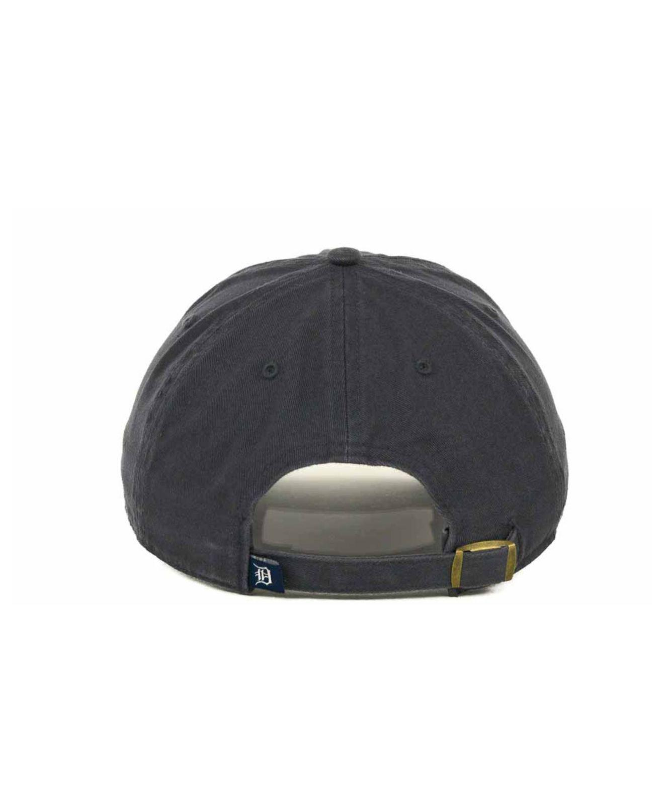 best value 05dc0 06446 47 Brand - Blue Detroit Tigers Clean Up Hat for Men - Lyst. View fullscreen