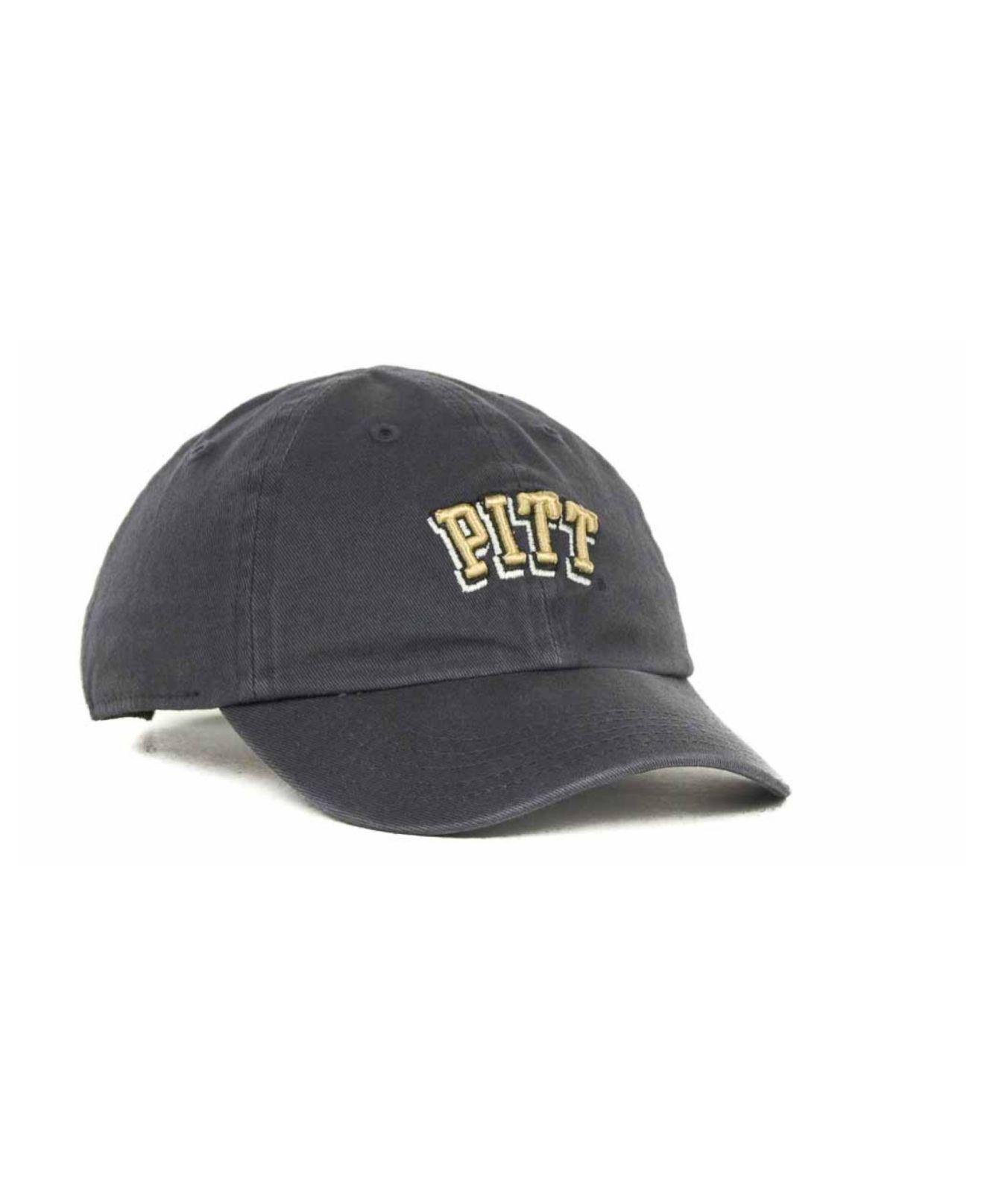 f6c6ab5e Lyst - 47 Brand Toddlers' Pittsburgh Panthers Clean Up Cap in Blue ...