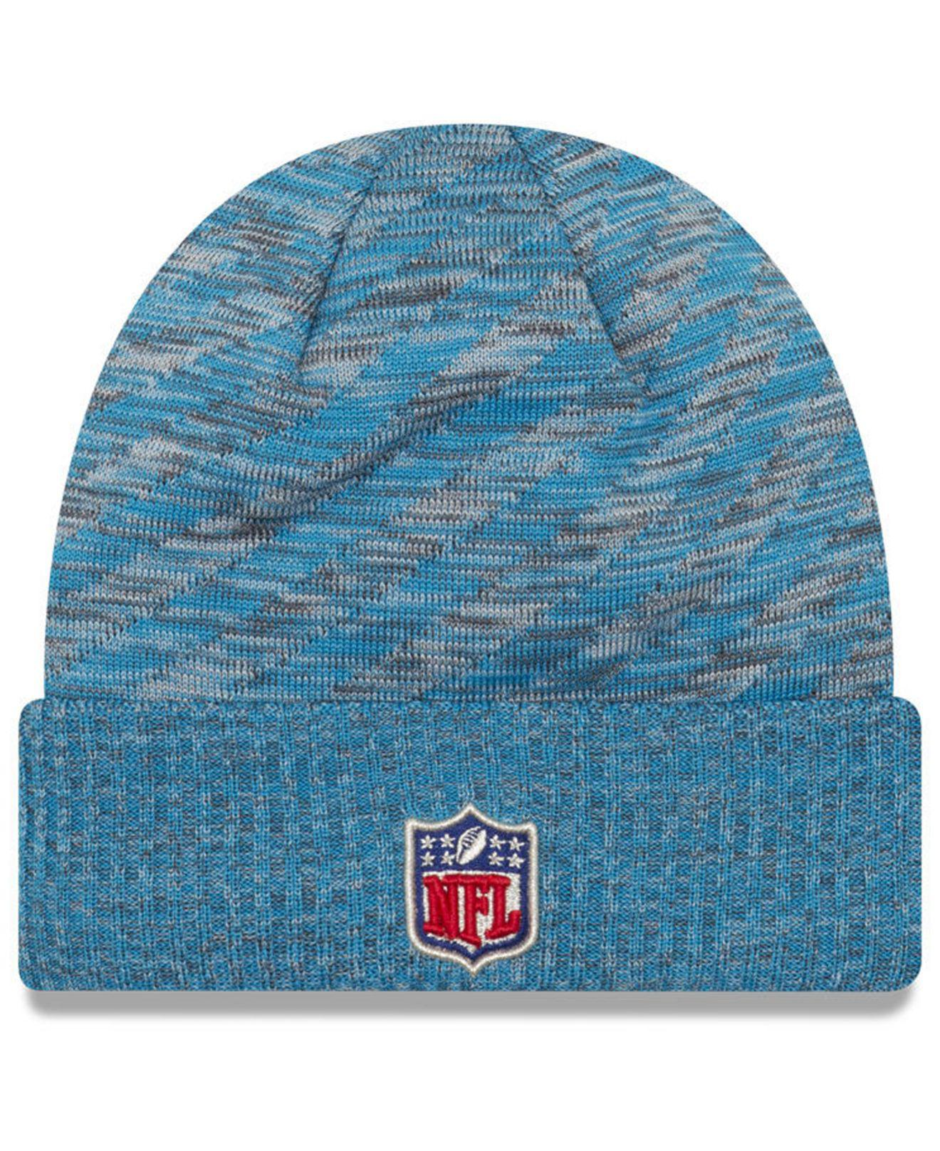 a1102e12c Lyst - Ktz Carolina Panthers Touch Down Knit Hat in Blue for Men