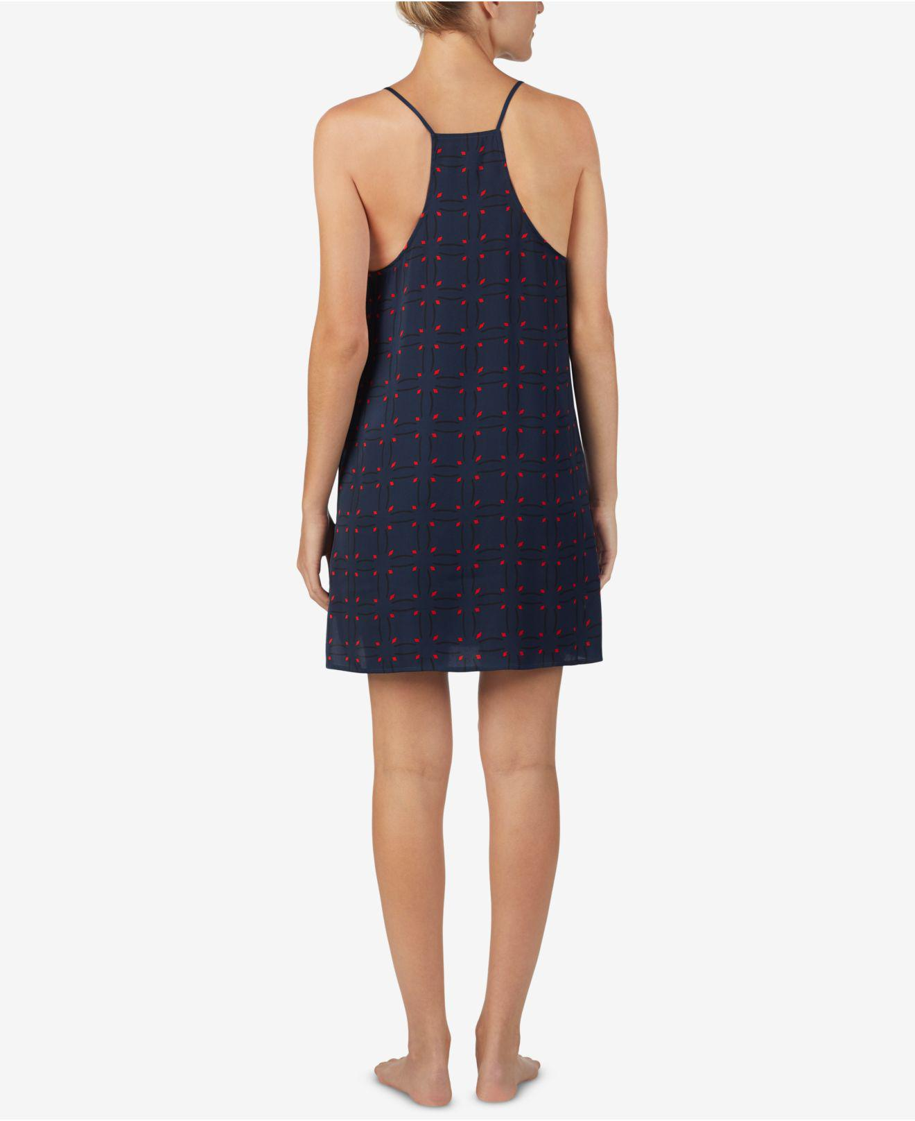 3d72c5b38e8f4 Lyst - Dkny Racerback Chemise in Blue