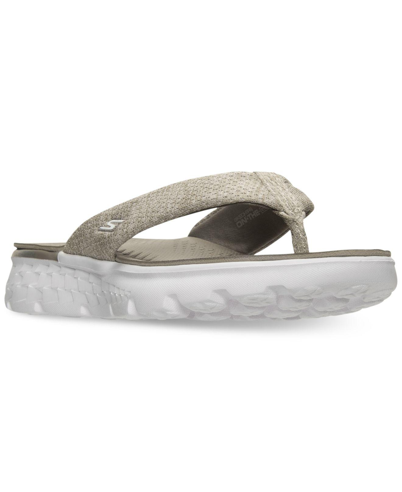 a3c65419bde Skechers. Women s On The Go - Vivacity Flip Flop Thong Sandals From Finish  Line