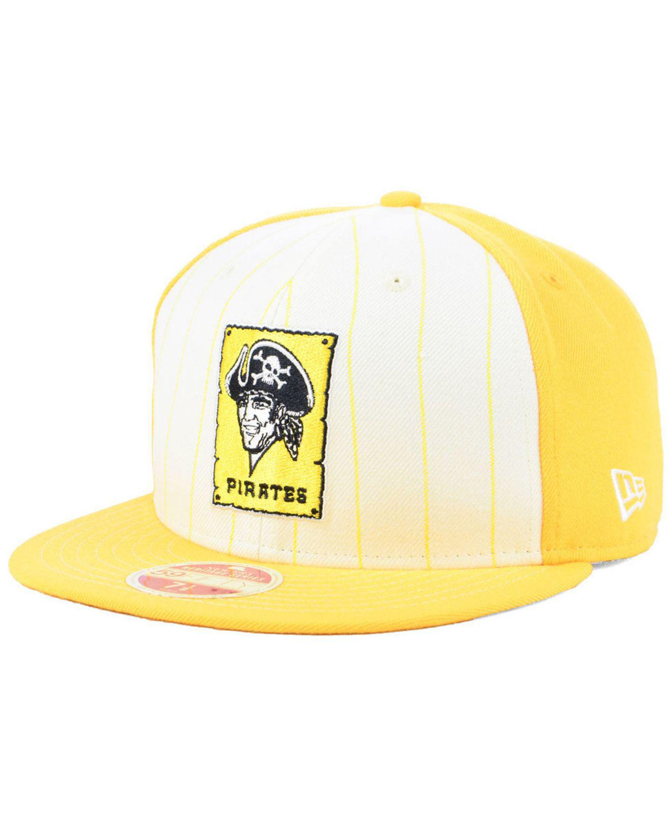 Lyst - KTZ Pittsburgh Pirates Vintage Front 59fifty Fitted Cap for Men c9099d1bdf45