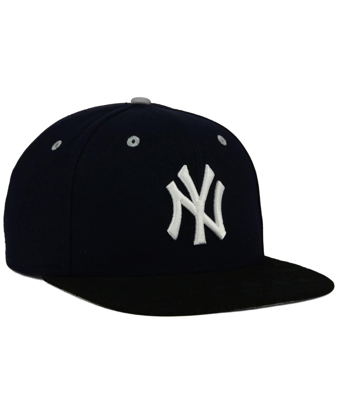 b396bac0f77 ... inexpensive lyst ktz new york yankees tone 9fifty snapback cap in blue  for men df29f 17e33
