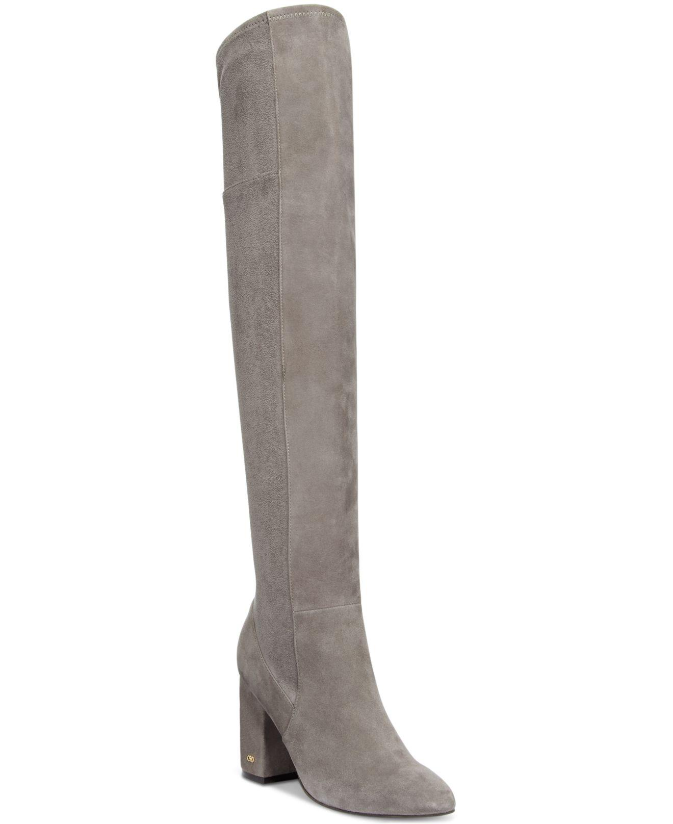 1f04c9b579d Lyst - Cole Haan Darla Over-the-knee Boots in Gray