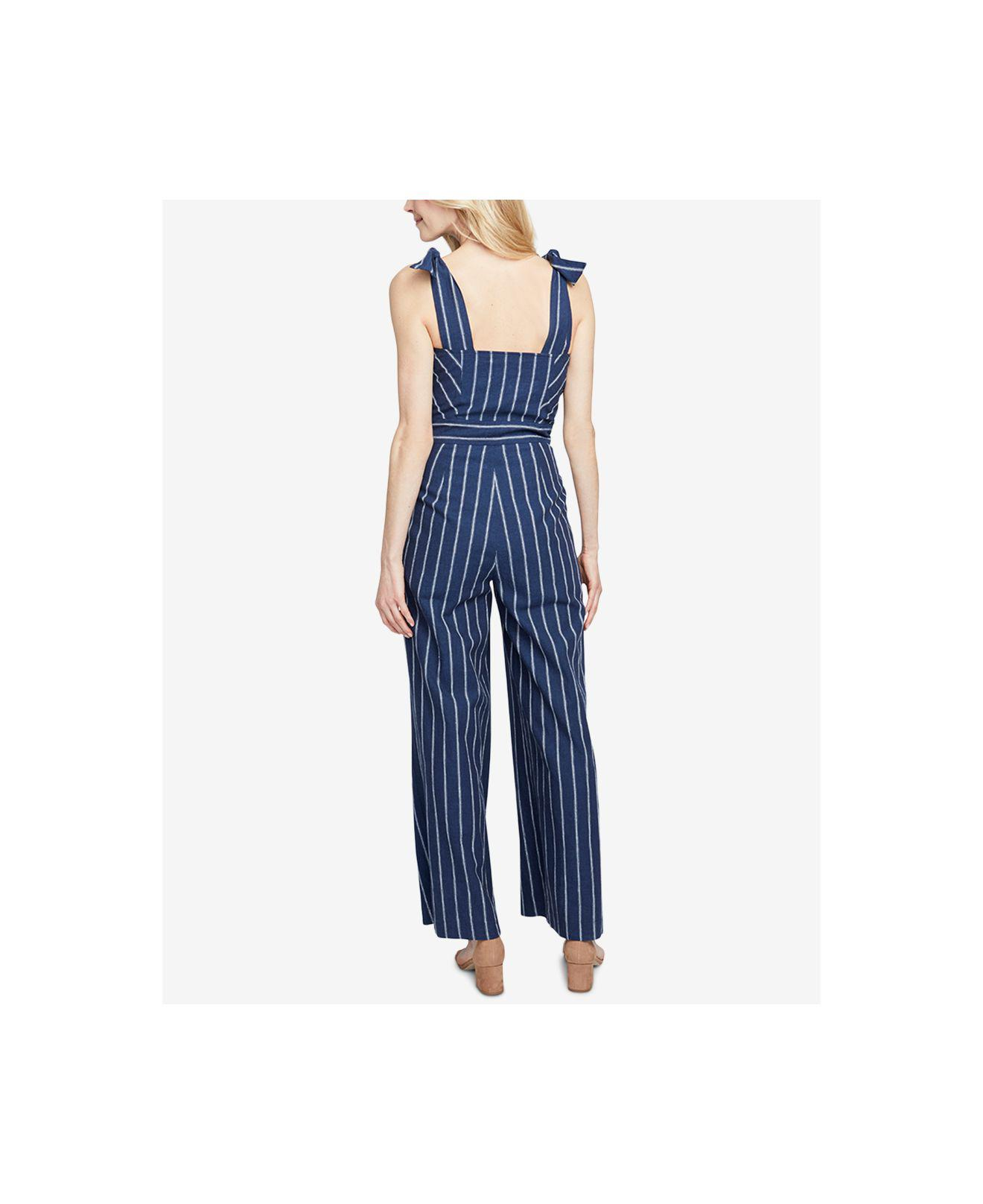 9d070861c33 Lyst - RACHEL Rachel Roy Kate Striped Jumpsuit in Blue - Save 14%