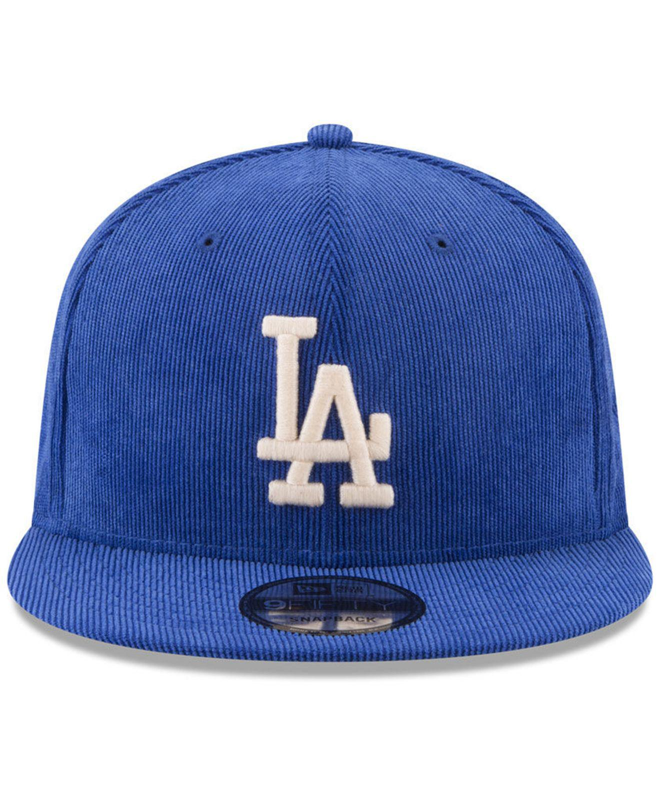 best sneakers 2ab67 adc0b ... official store lyst ktz los angeles dodgers all cooperstown corduroy  9fifty 71241 ae453