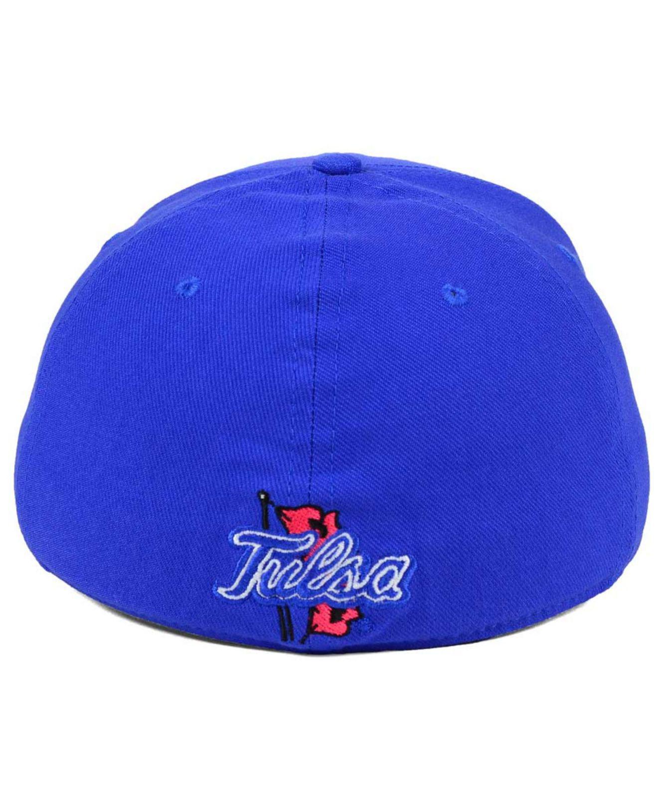 new product 3bb57 f5a40 ... best price nike blue tulsa golden hurricane classic swoosh cap for men  lyst. view fullscreen