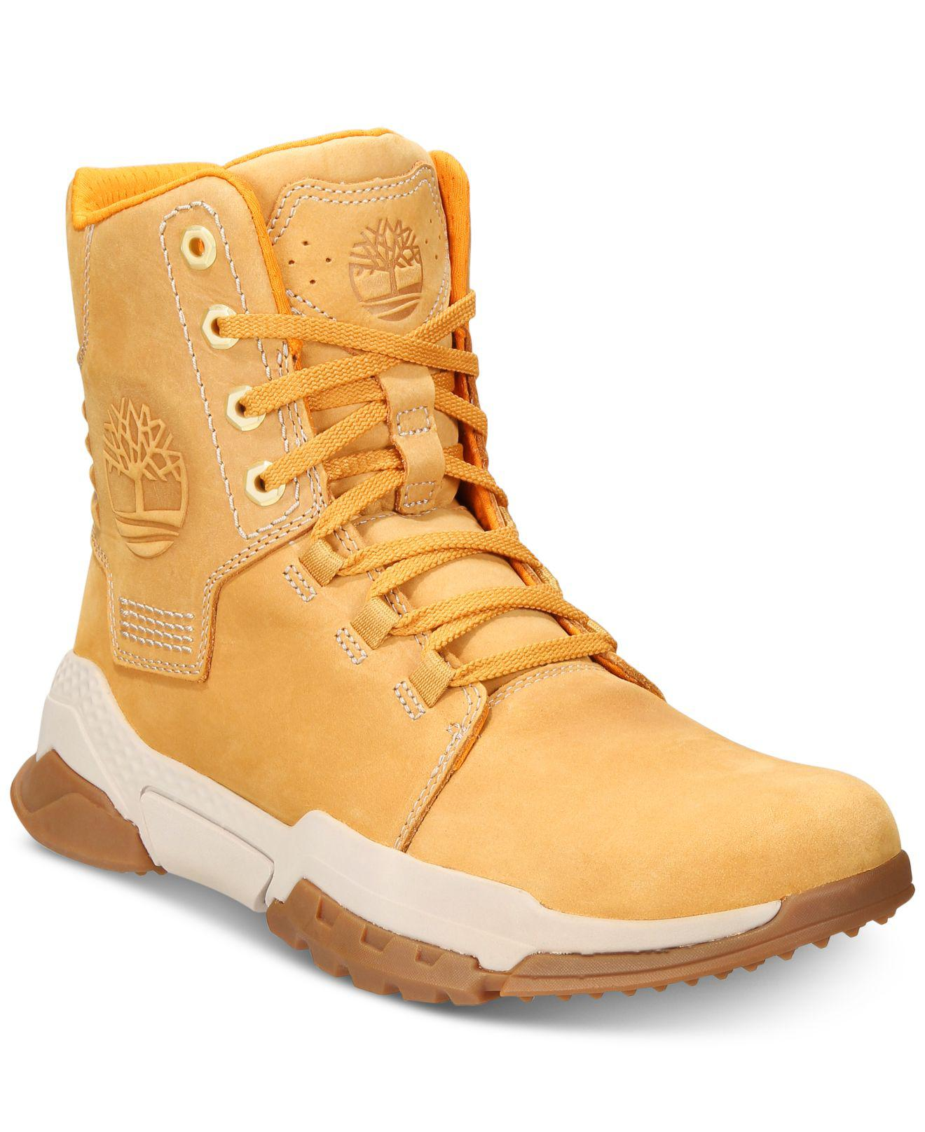 Timberland Multicolor City Force Leather Boots for men
