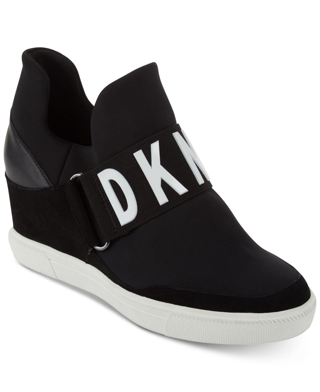 b507ccc69008 Lyst - DKNY Cosmos Platform Sneakers