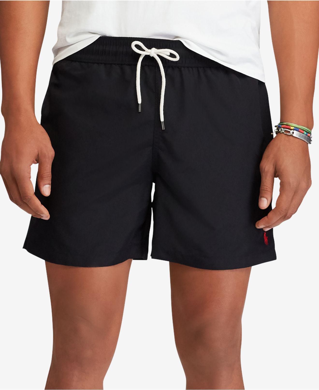 4fada453360f Lyst - Polo Ralph Lauren Hawaiian Swim Boxer in Black for Men - Save 20%