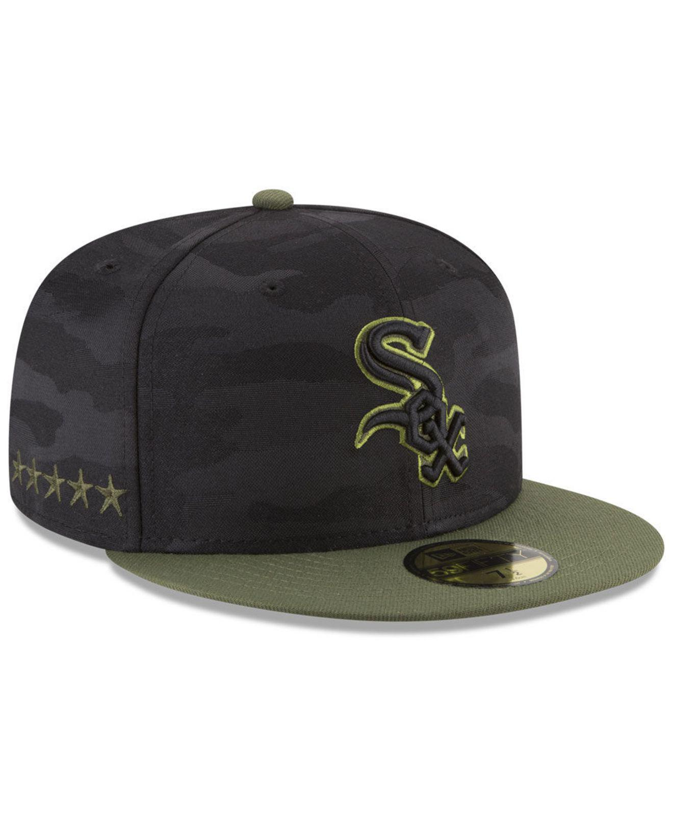 buy popular 5fd2b 9790d KTZ. Men s Chicago White Sox Memorial Day 59fifty Fitted Cap