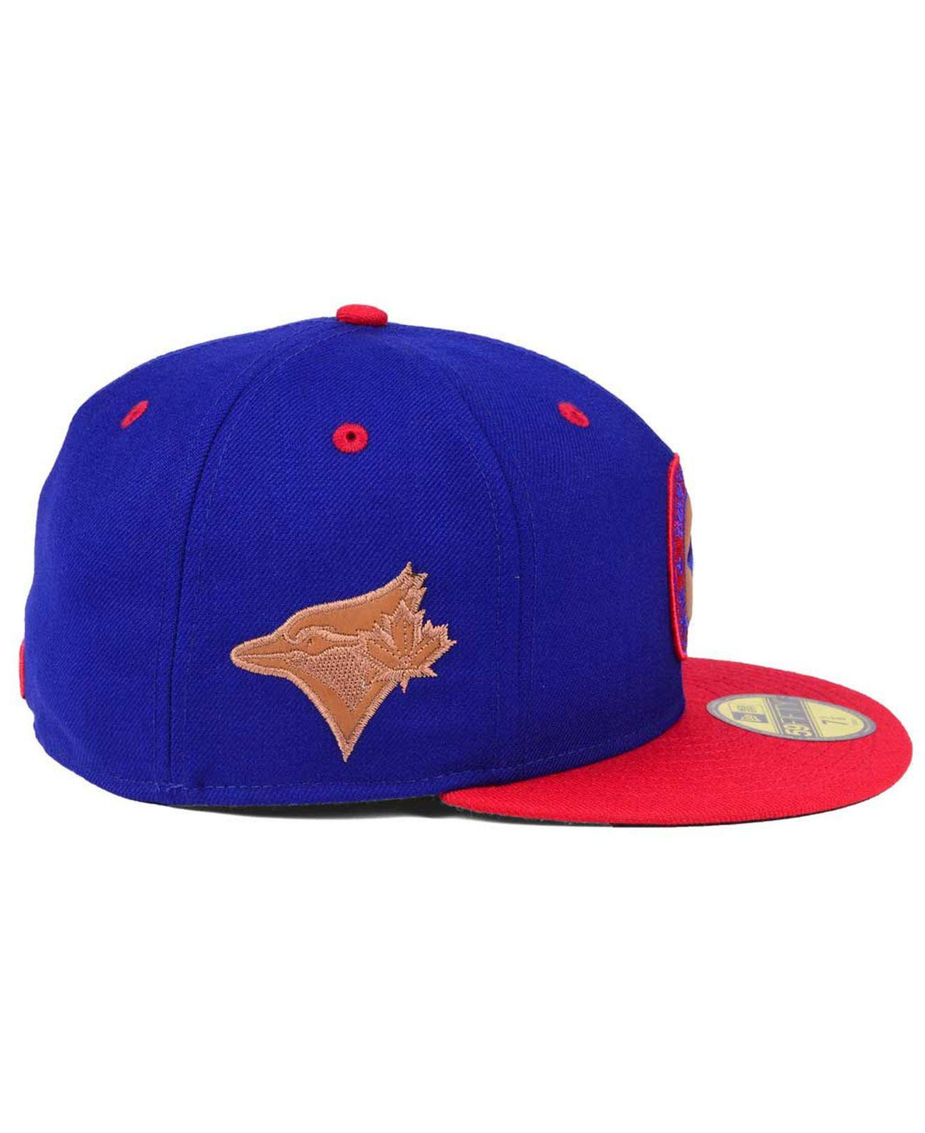 huge discount df293 6d489 Lyst - KTZ Toronto Blue Jays X Wilson Circle Patch 59fifty Fitted ...