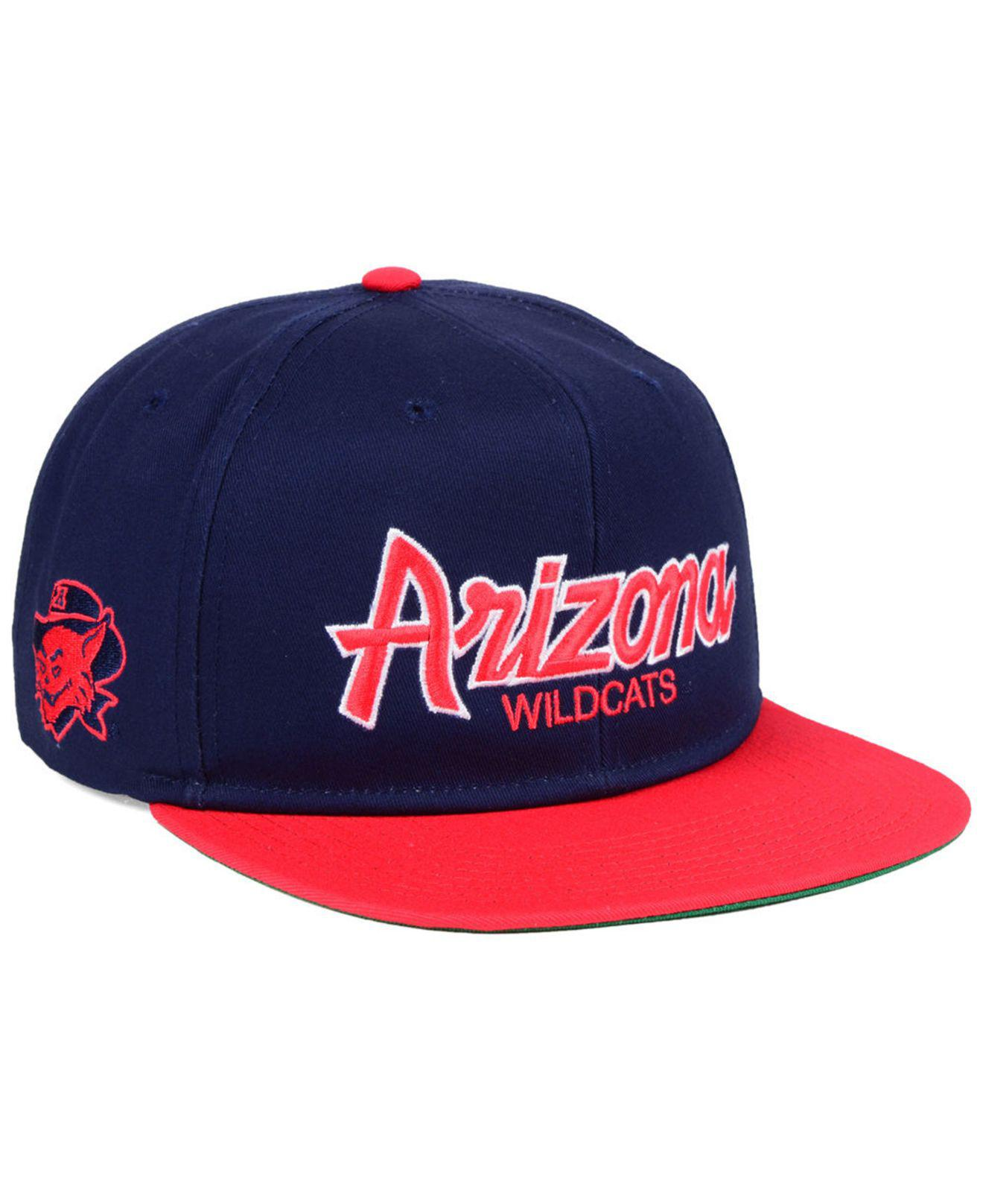 buy popular e3b46 5a4fa Nike Arizona Wildcats Sport Specialties Snapback Cap in Blue for Men ...
