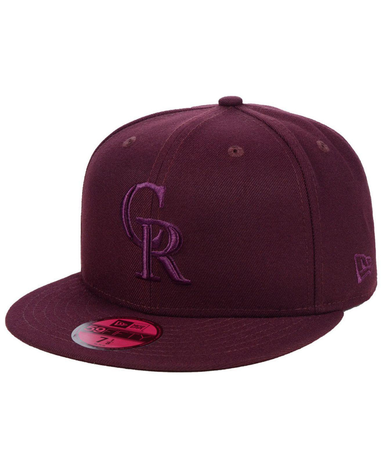 finest selection 439f7 168cb ... promo code for ktz. mens purple colorado rockies fall prism pack  59fifty fitted cap 2b70c