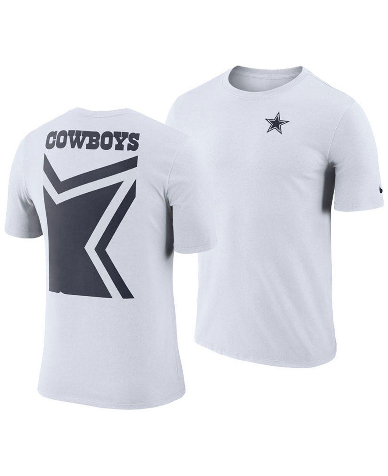 70c78320 Nike Dallas Cowboys Crew Champ T-shirt in White for Men - Lyst