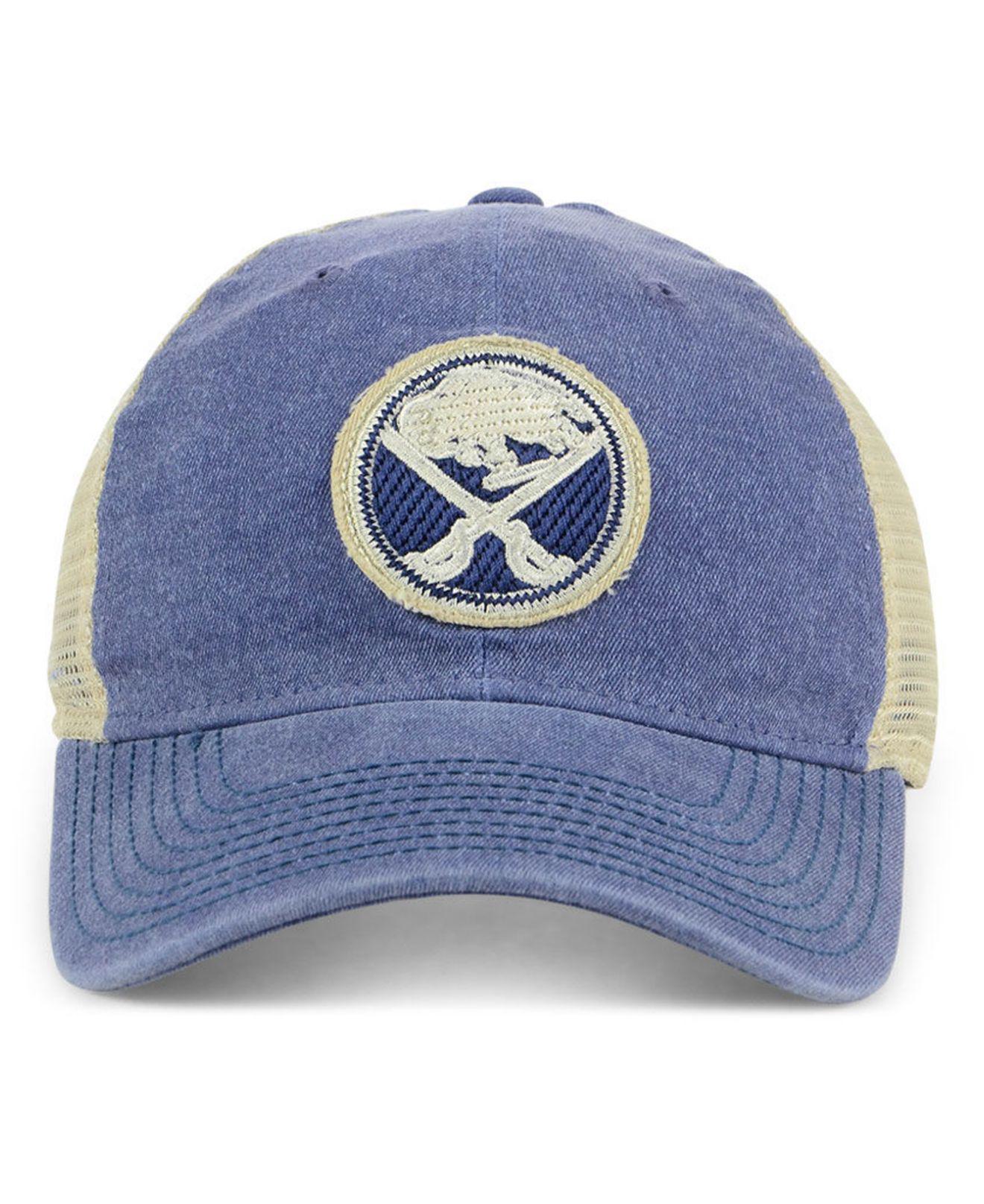0a5a7beac83b1 ... locker room structured flex cap cedfc e354b  france lyst adidas buffalo  sabres sun bleached slouch cap in blue for men 70b55 b4271