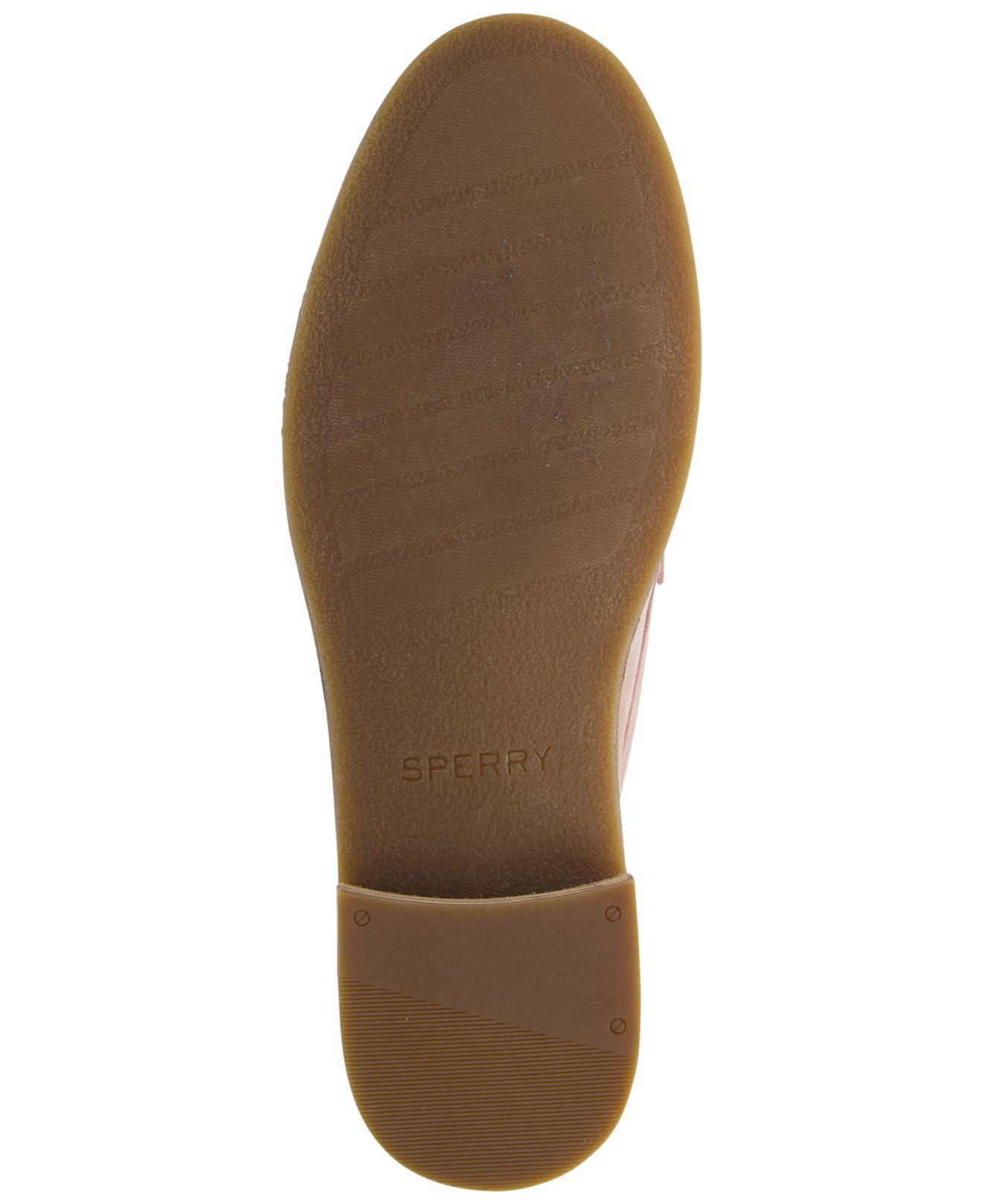 7426d4db2e8287 Sperry Top-Sider - Pink Seaport Penny Memory Foam Loafers - Lyst. View  fullscreen