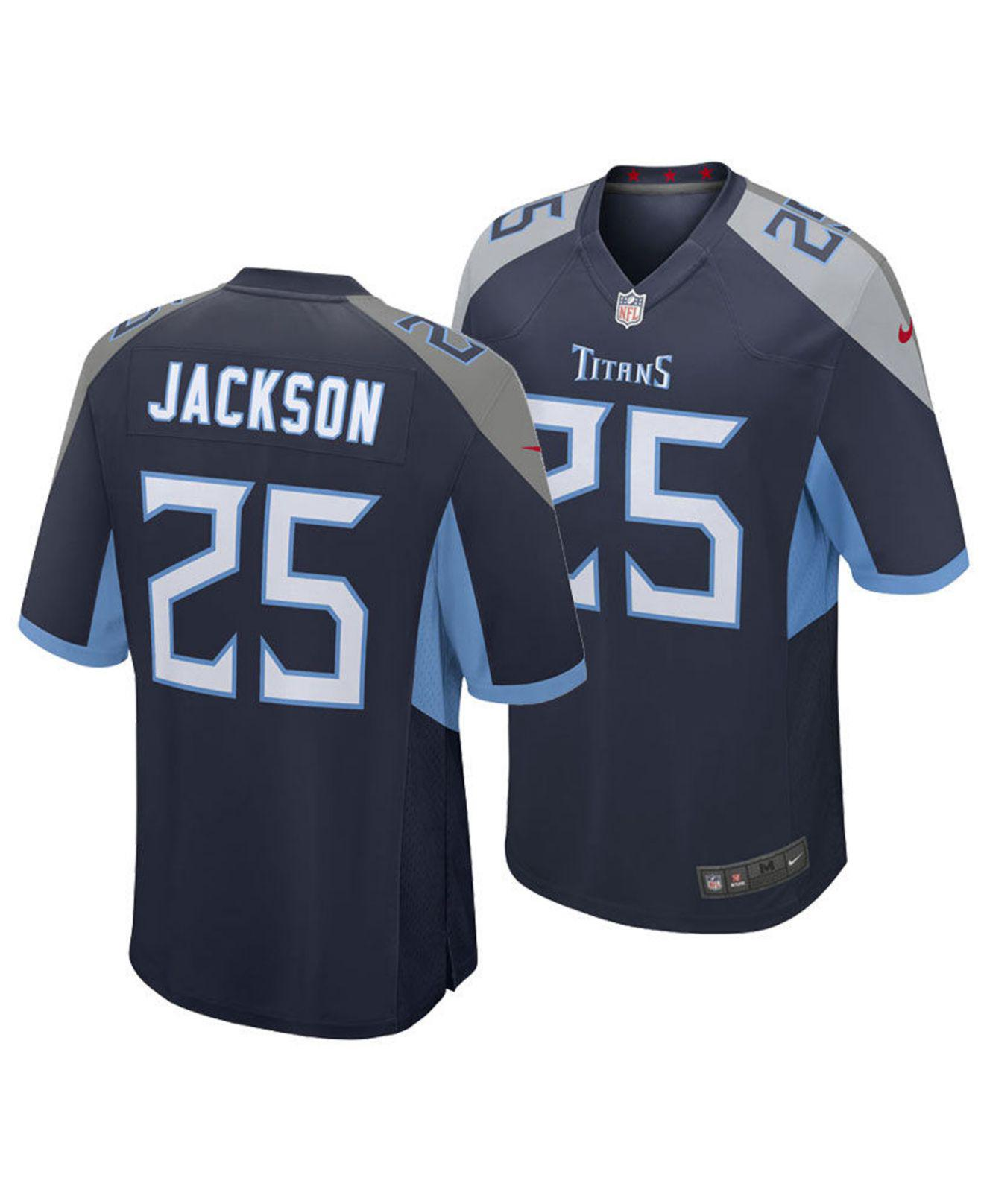 new style 2aa8e 2b42d Nike Adoree' Jackson Tennessee Titans Game Jersey in Blue ...