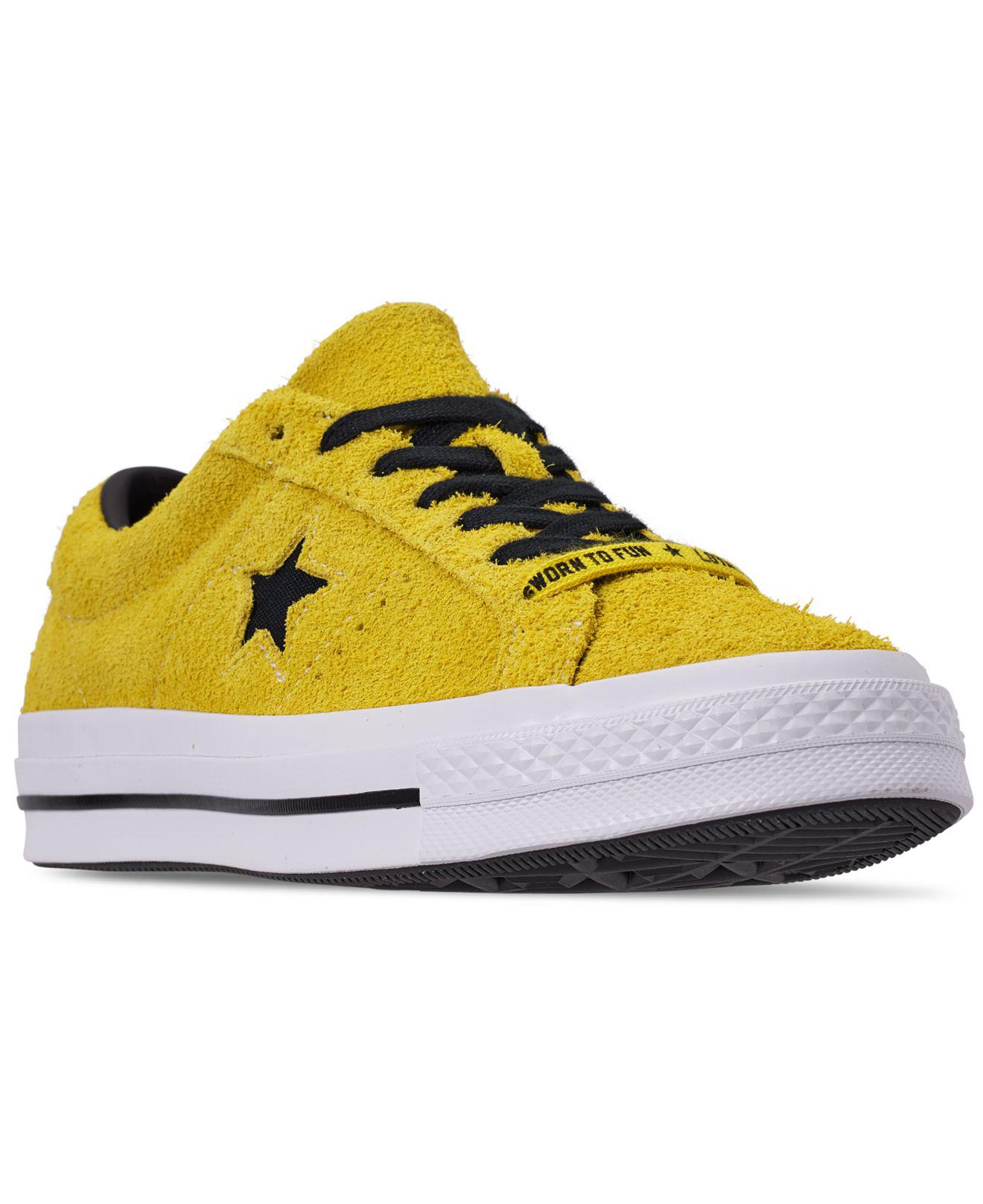 c015d63b222e54 Lyst - Converse One Star Dark Star Vintage Suede Ox Shoes (trainers ...