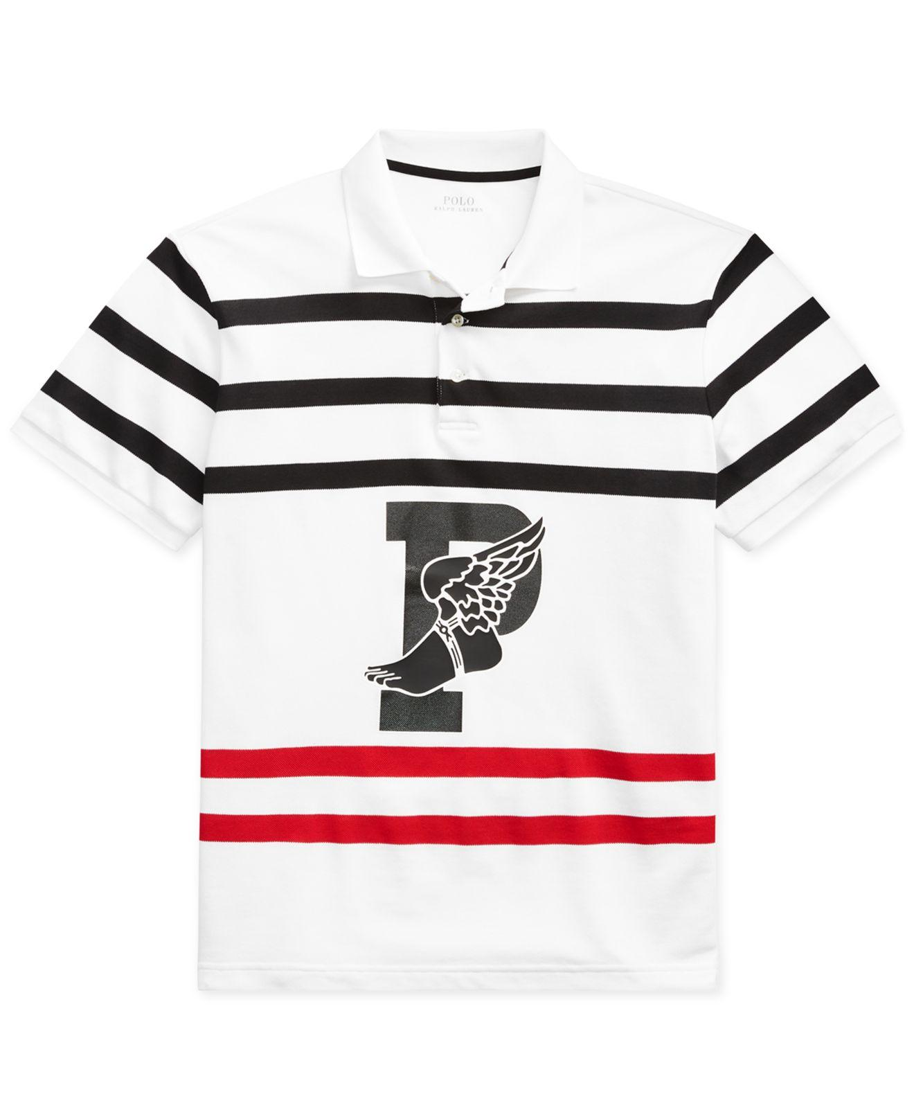 f82ebe21 Polo Ralph Lauren P-wing Stretch Polo, Created For Macy's in White ...