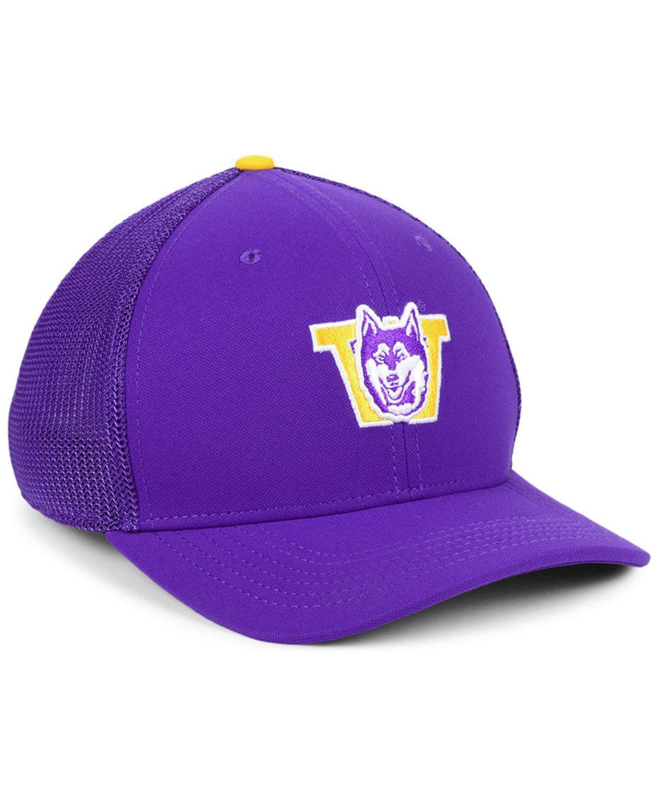 detailed look 1ab89 6dee1 ... cheap nike purple washington huskies col aro swooshflex cap for men  lyst. view fullscreen f9924