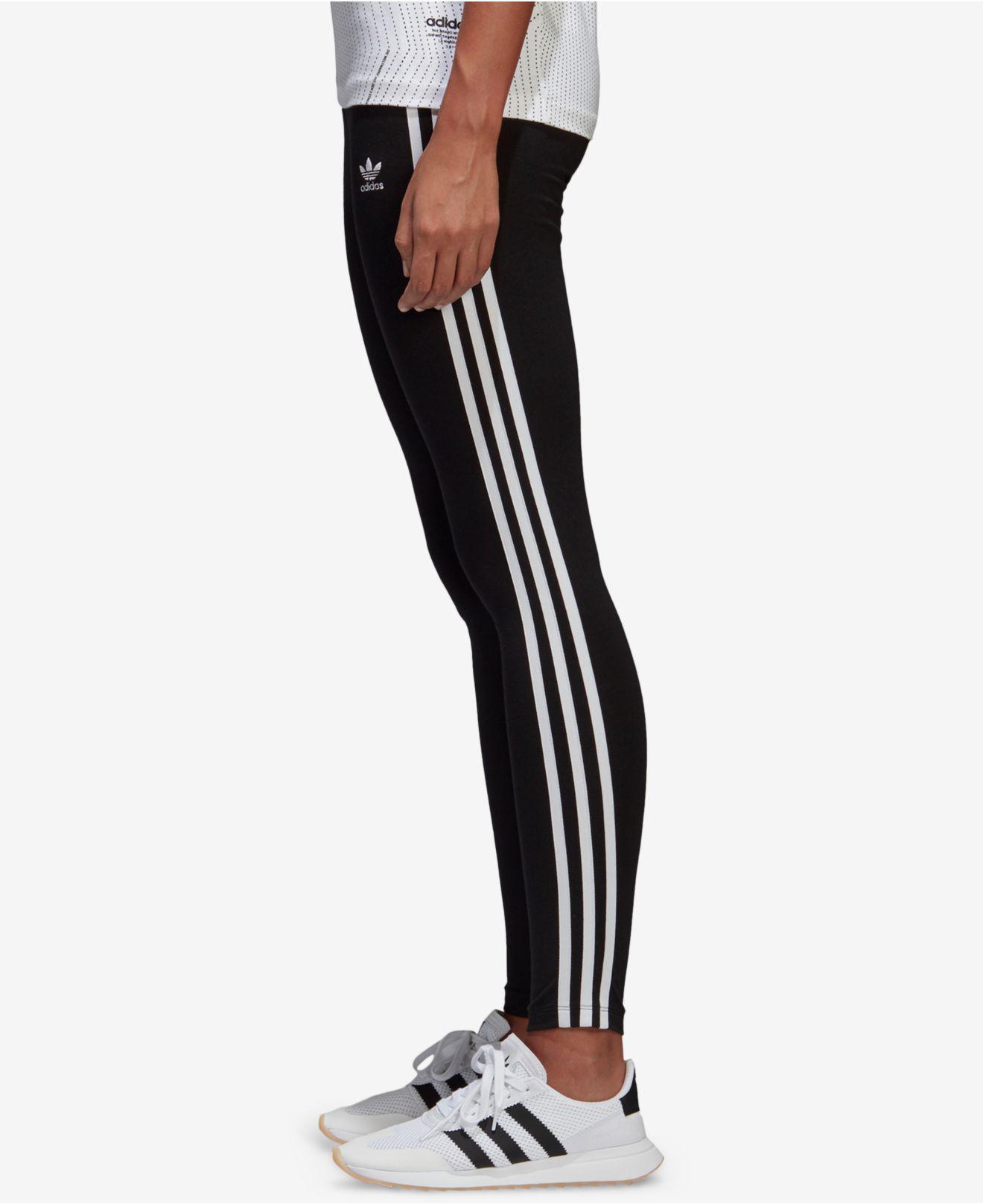 Lyst adidas Originals Adicolor 3 Stripe leggings en negro para hombres