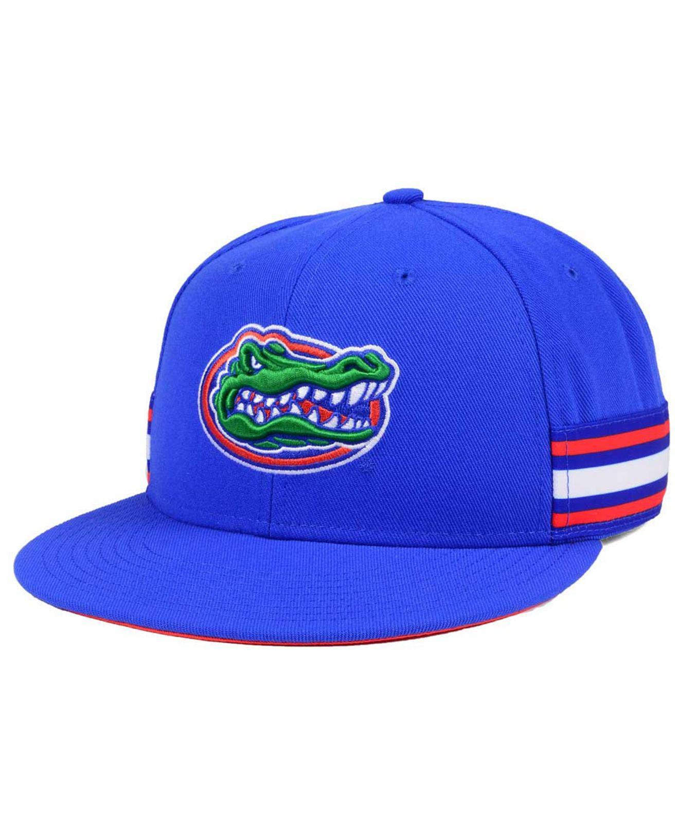 innovative design 9e4d6 b3bde Nike Florida Gators True Woven Stripe Snapback Cap in Blue for Men ...