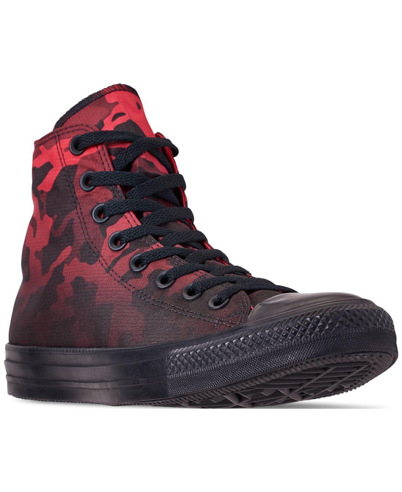 5ef1f7ab117e Converse. Men s Black Chuck Taylor All Star Gradient Camo High Top Casual  Sneakers ...