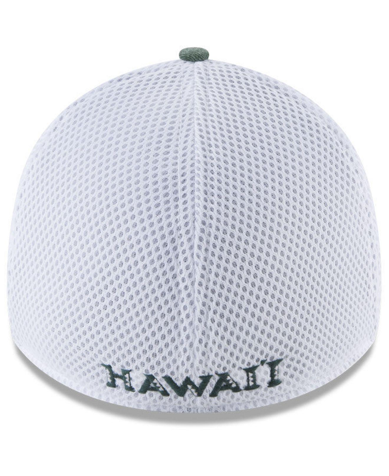 cheap for discount 75c0f 118ee ... pop flex 39thirty cap in black for men 048e4 1b81e  release date lyst  ktz hawaii warriors washed neo 39thirty cap in green for men fbc90 c3196