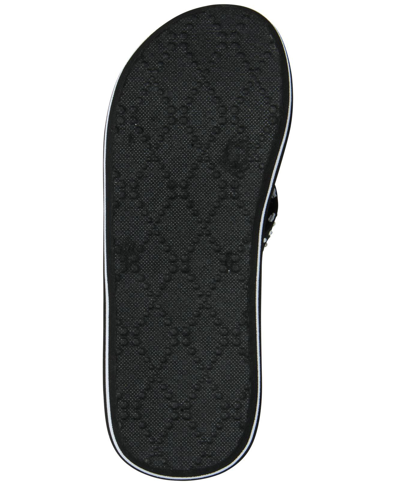c30804513 Lyst - Skechers Asana Flip-flop Thong Sandals From Finish Line in Black