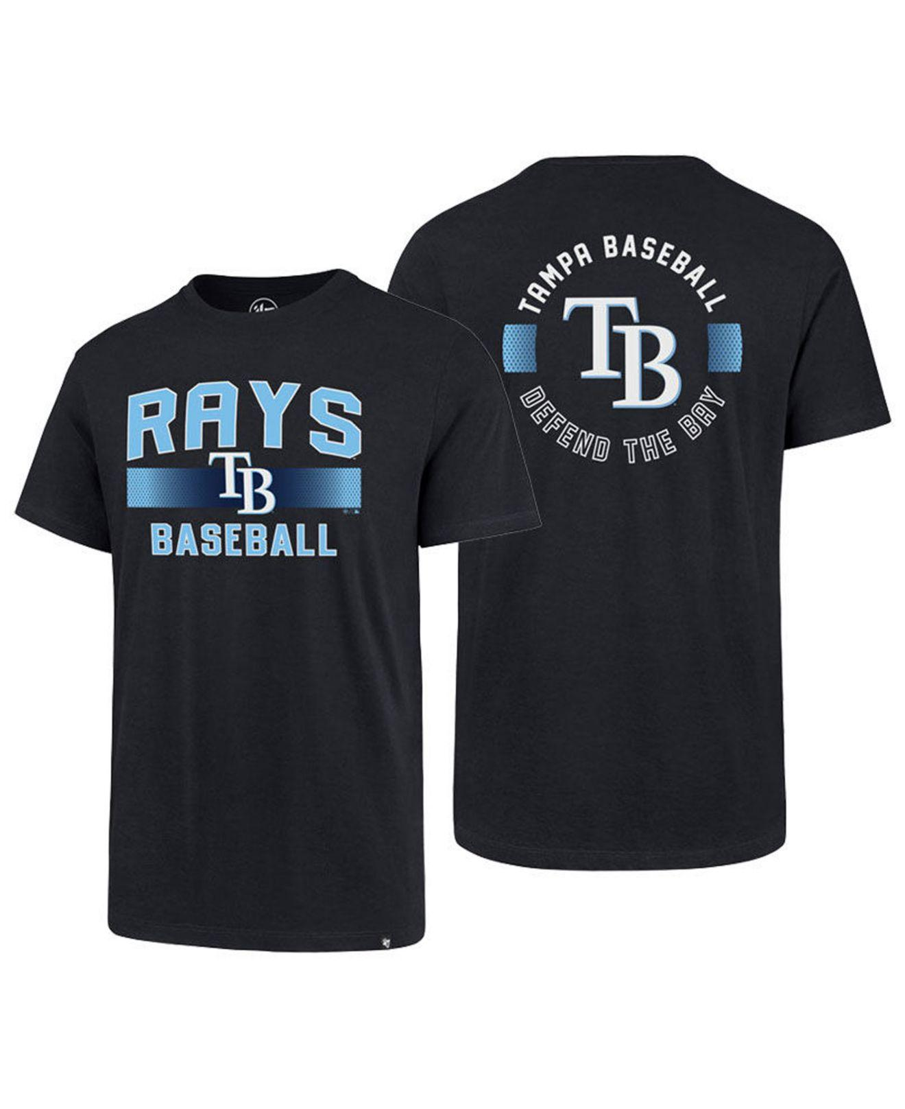 c81972c4 Lyst - 47 Brand Tampa Bay Rays Rival Slugger T-shirt in Blue for Men