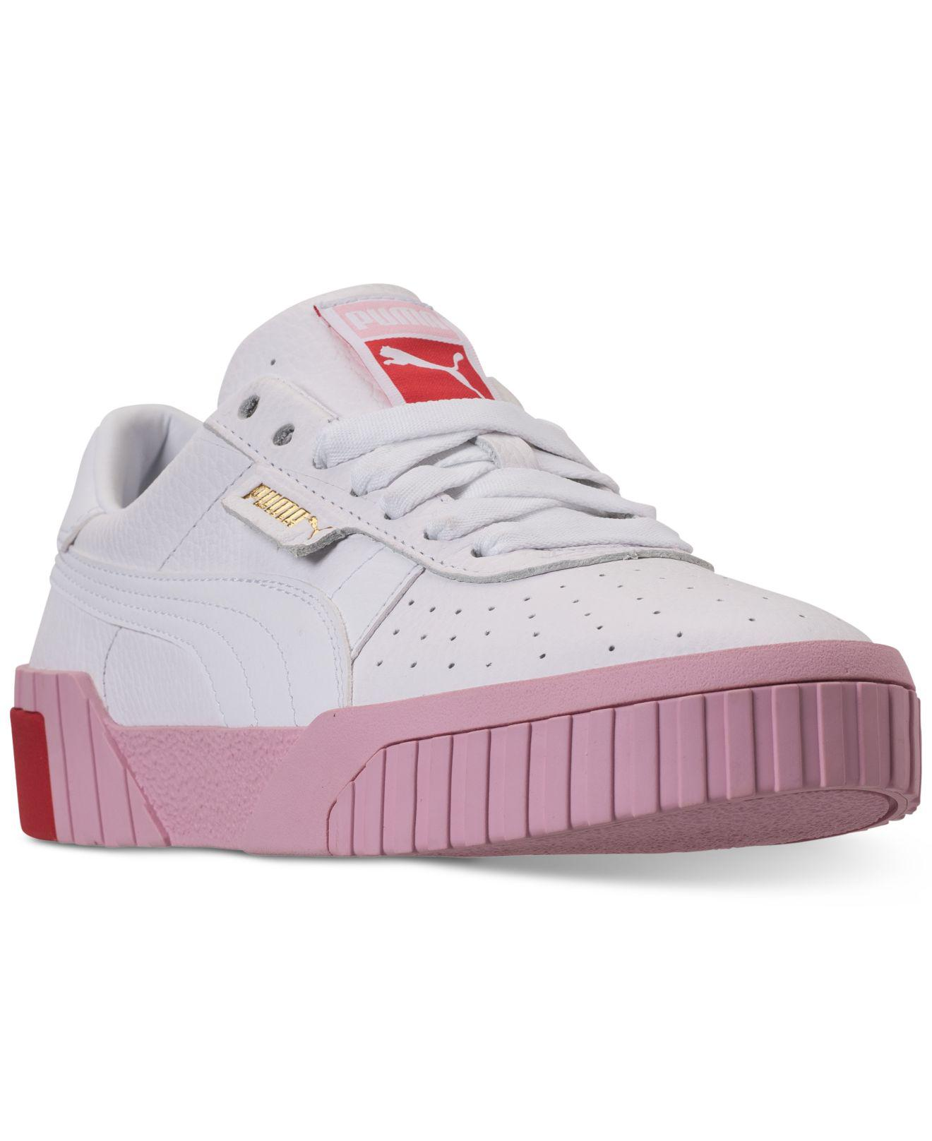 Lyst - PUMA California Fashion Casual Sneakers From Finish Line in Pink b20deb01e