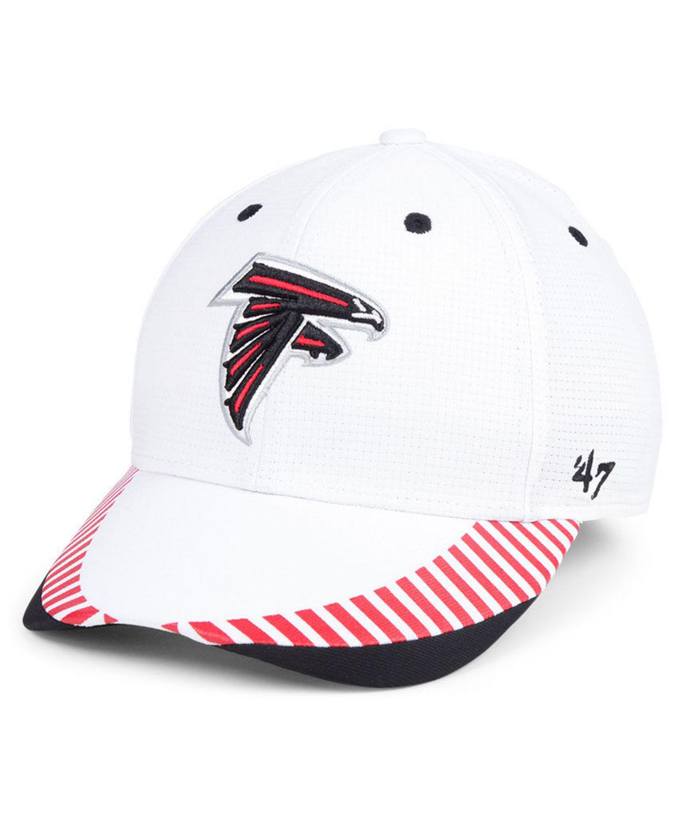 Lyst - 47 Brand Atlanta Falcons Tantrum Contender Flex Cap in White ... 00a9989a5