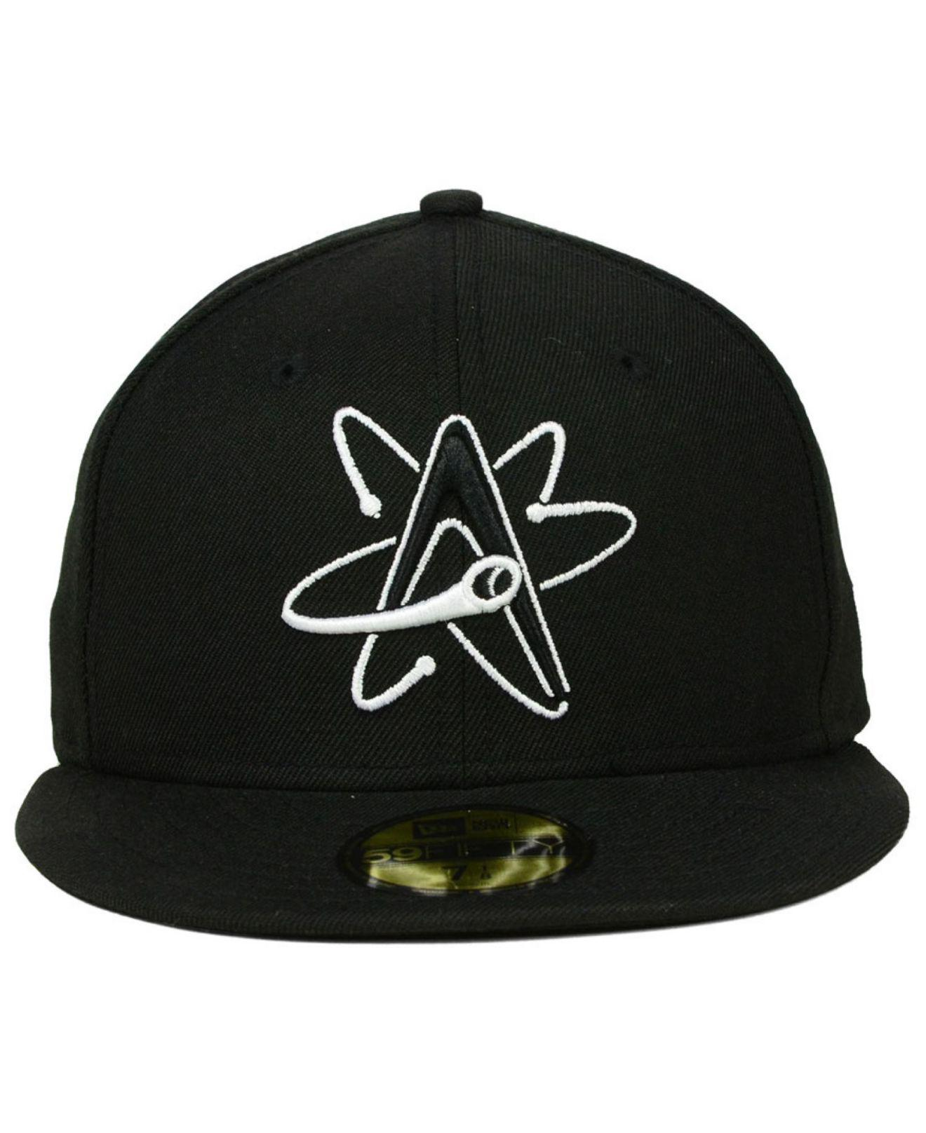Lyst - KTZ Albuquerque Isotopes 59fifty Cap in Black for Men 75b64daa7ea7