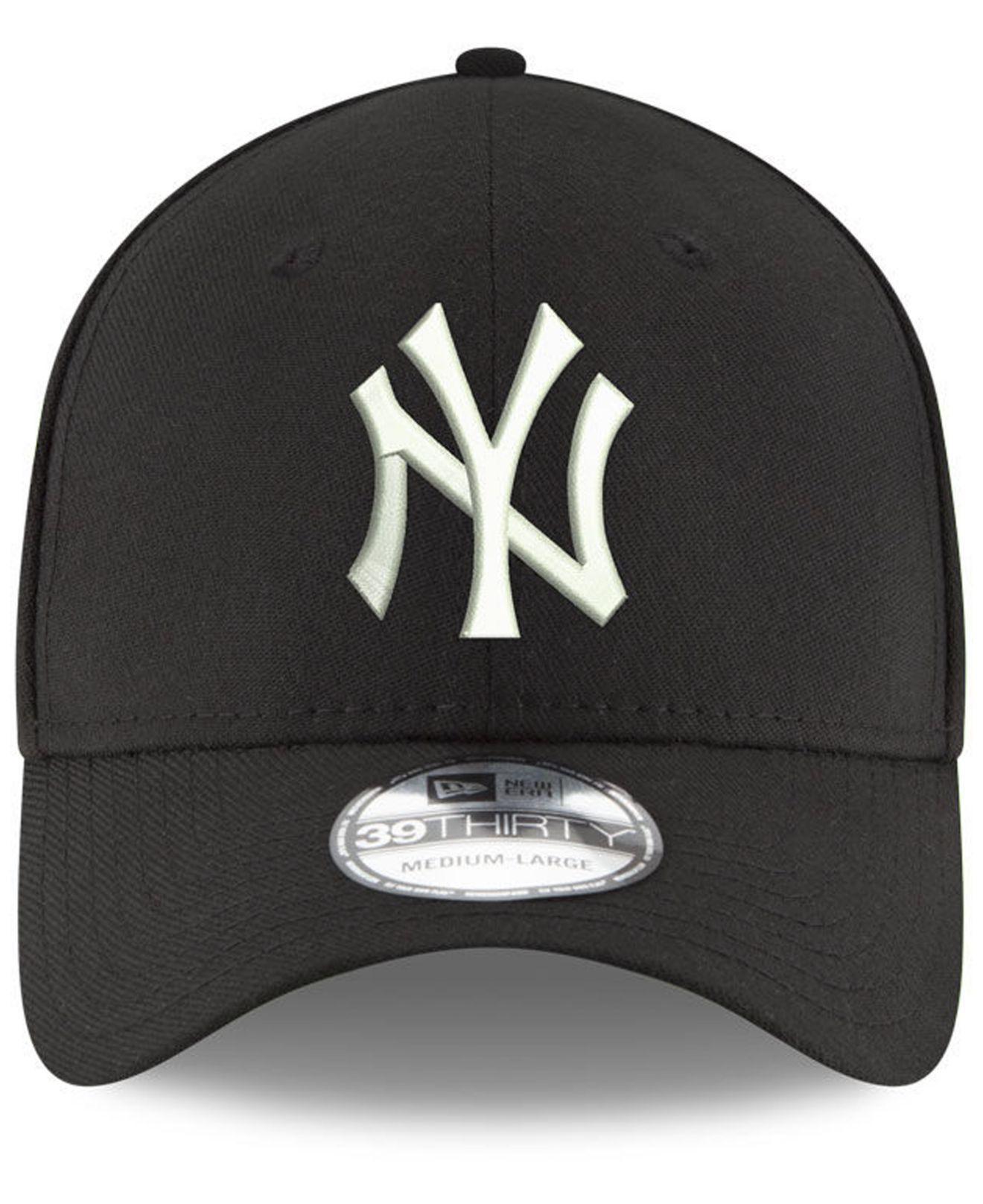 f6c5c7ff225 Lyst - KTZ New York Yankees Dub Classic 39thirty Cap in Black for Men