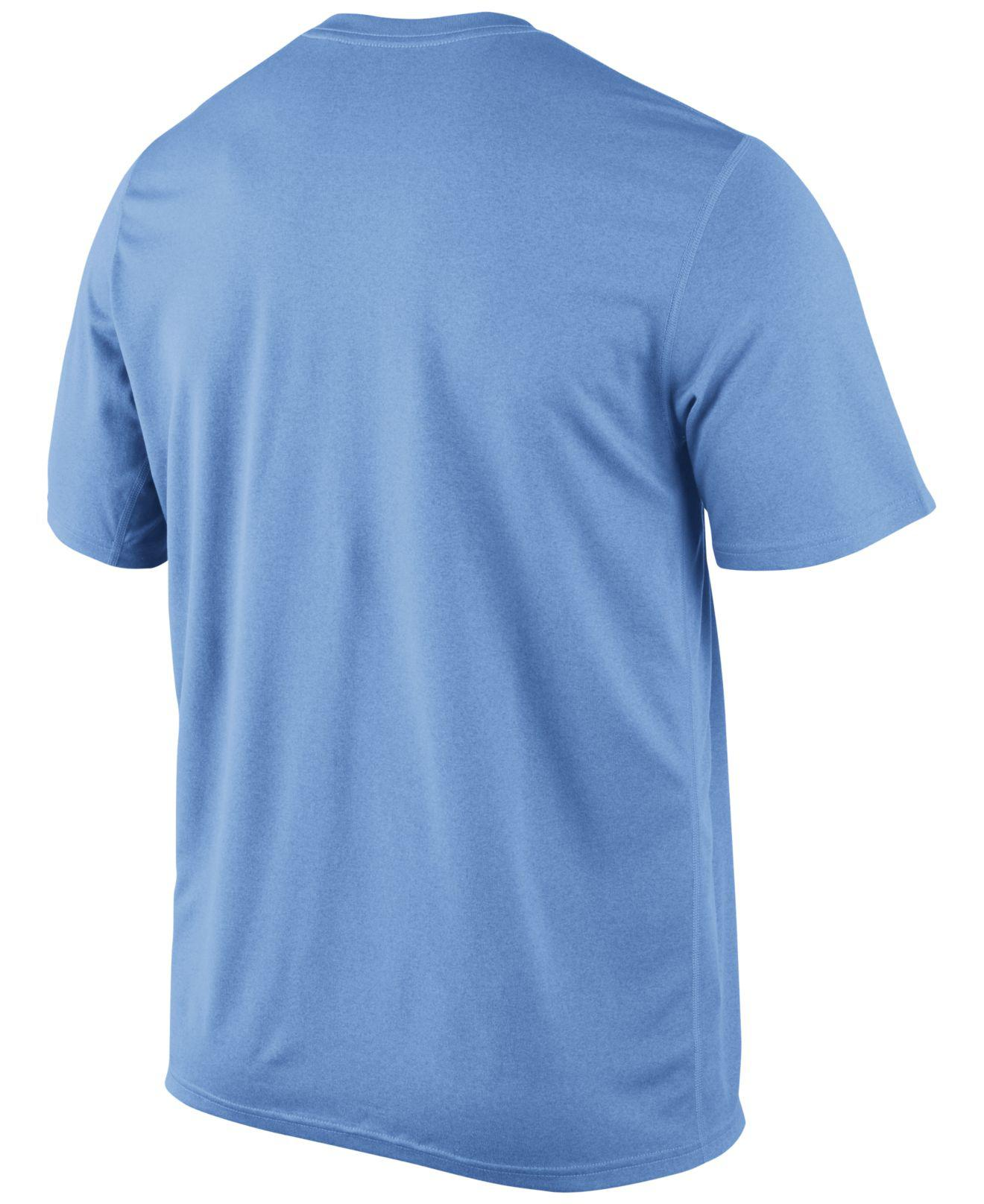 13fb9d5d8 Lyst - Nike Men's Kansas City Royals Legend Wordmark T-shirt in Blue for Men