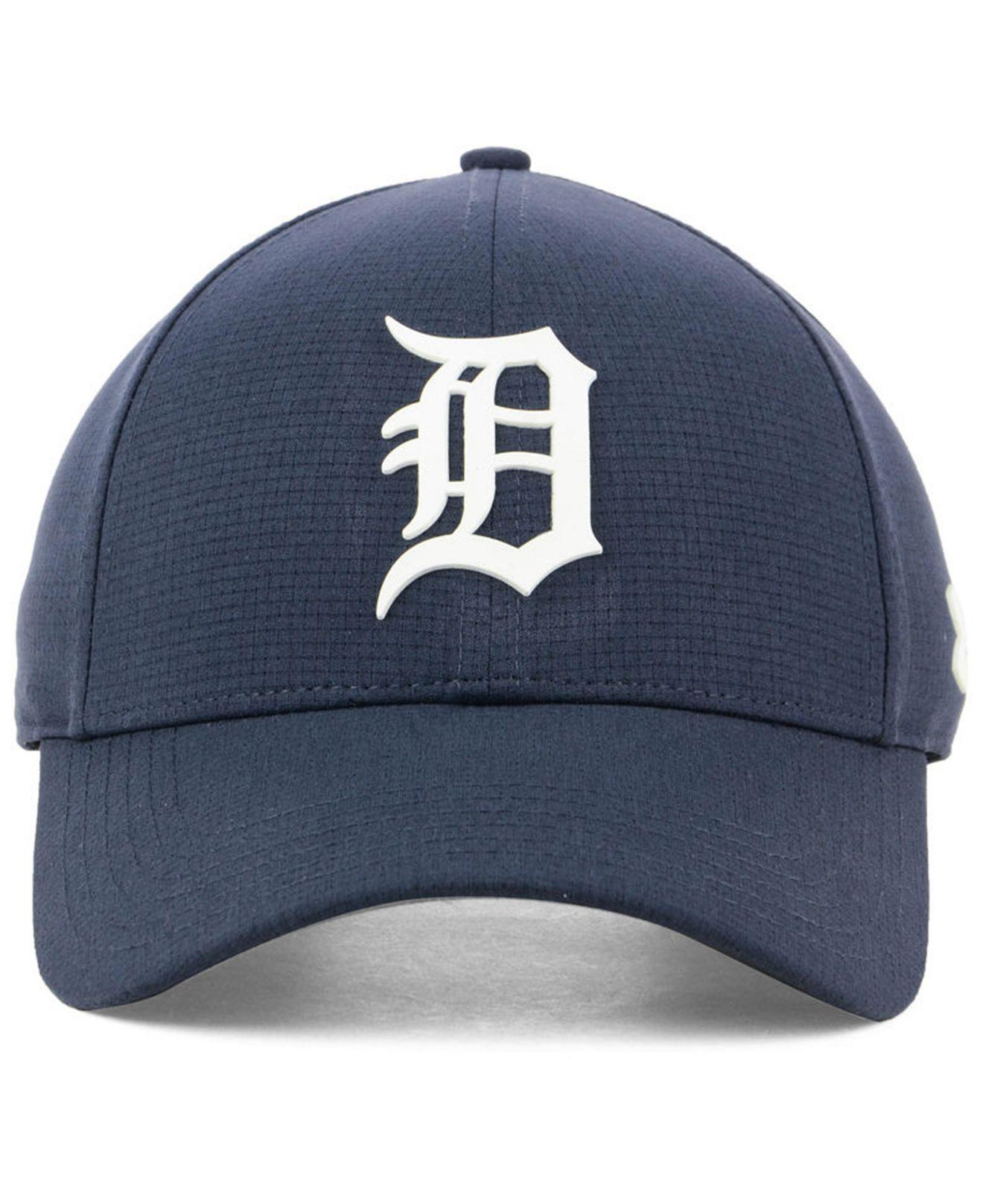 5f98cdd94959b ... sale lyst under armour detroit tigers driver cap in blue for men 96186  3bf97