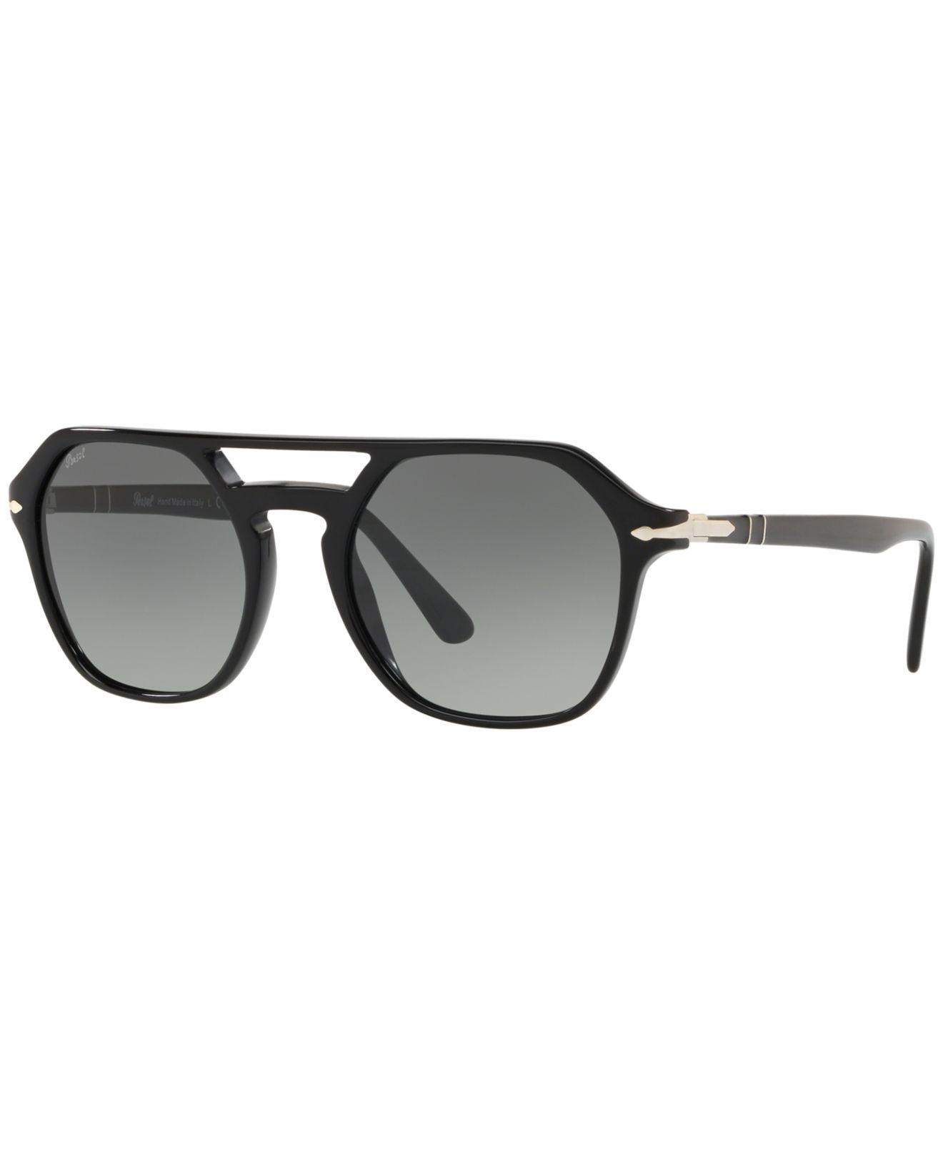 aa5aefc8e9a61 Persol. Men s Gray Sunglasses